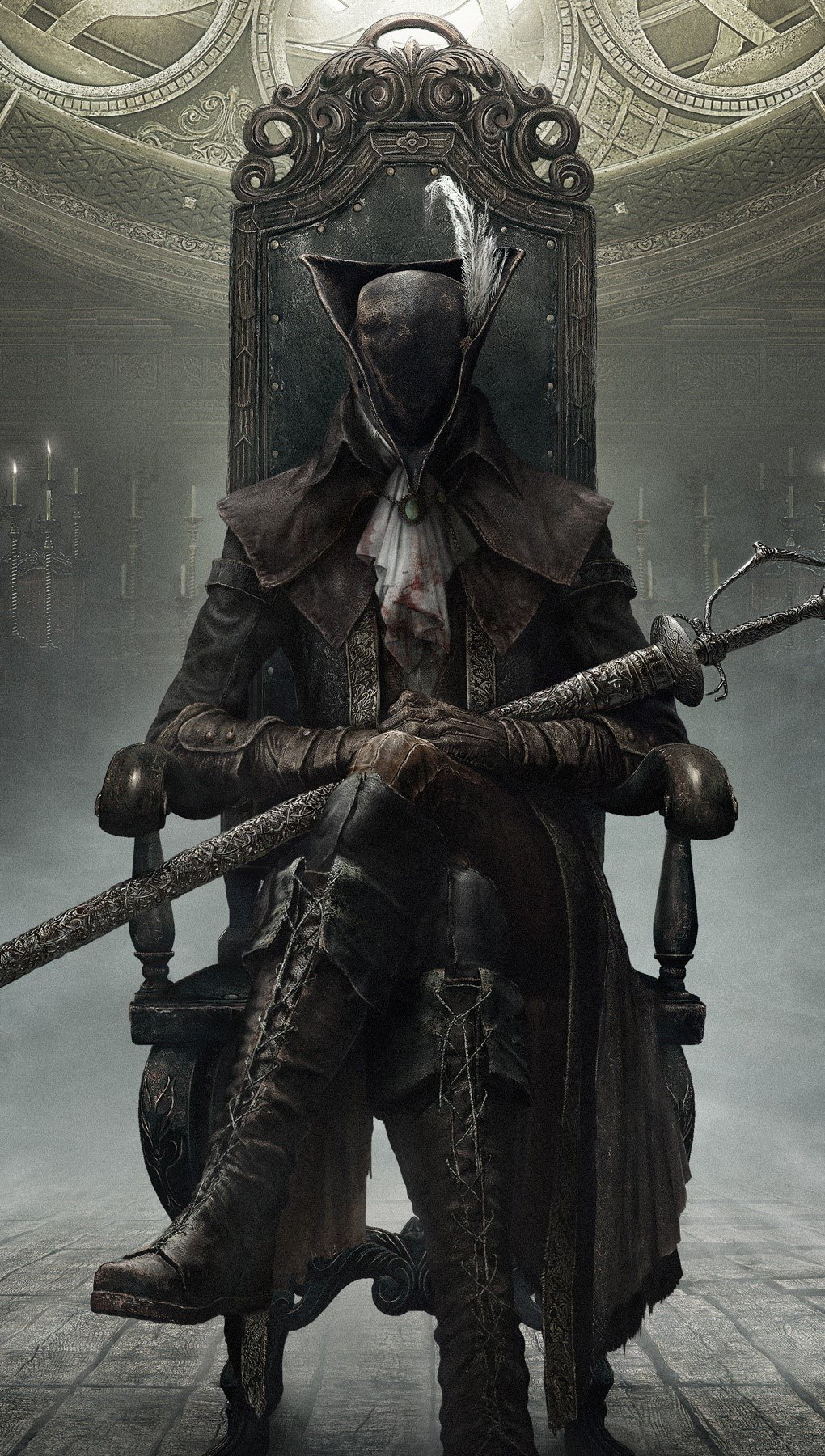 Wallpaper Bloodborne in The old hunters Vertical