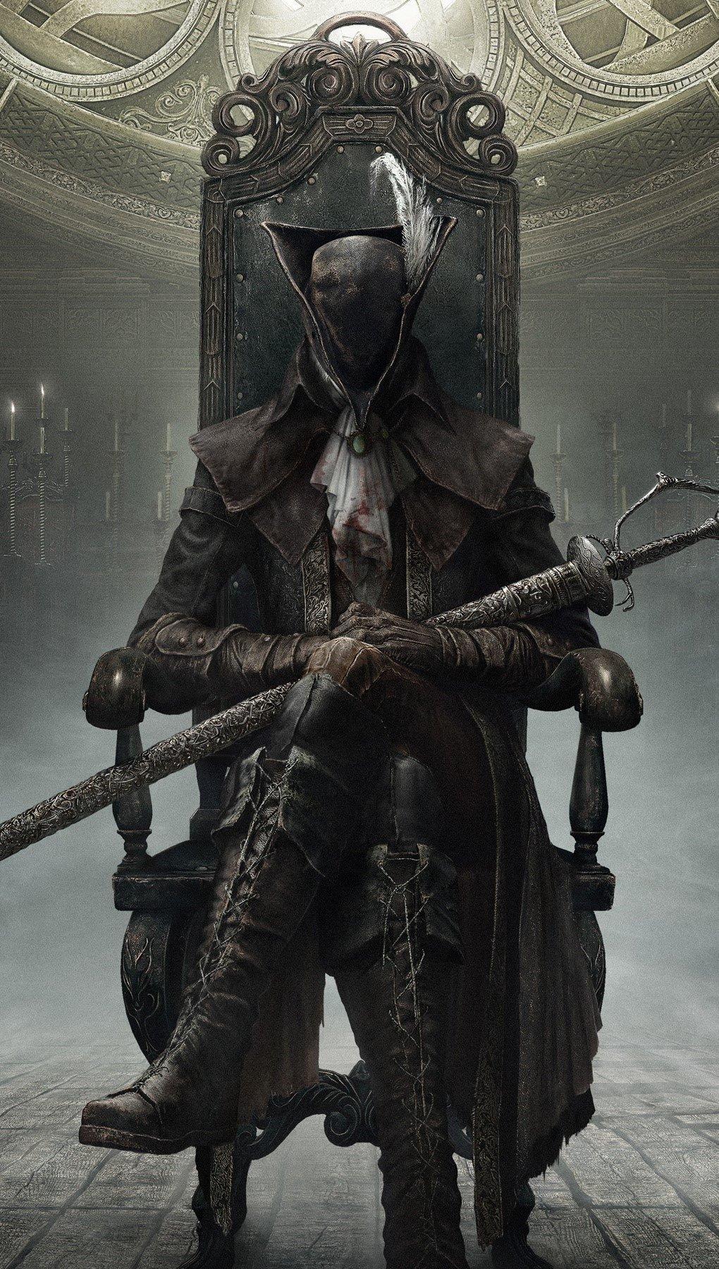 Fondos de pantalla Bloodborne en The old hunters Vertical