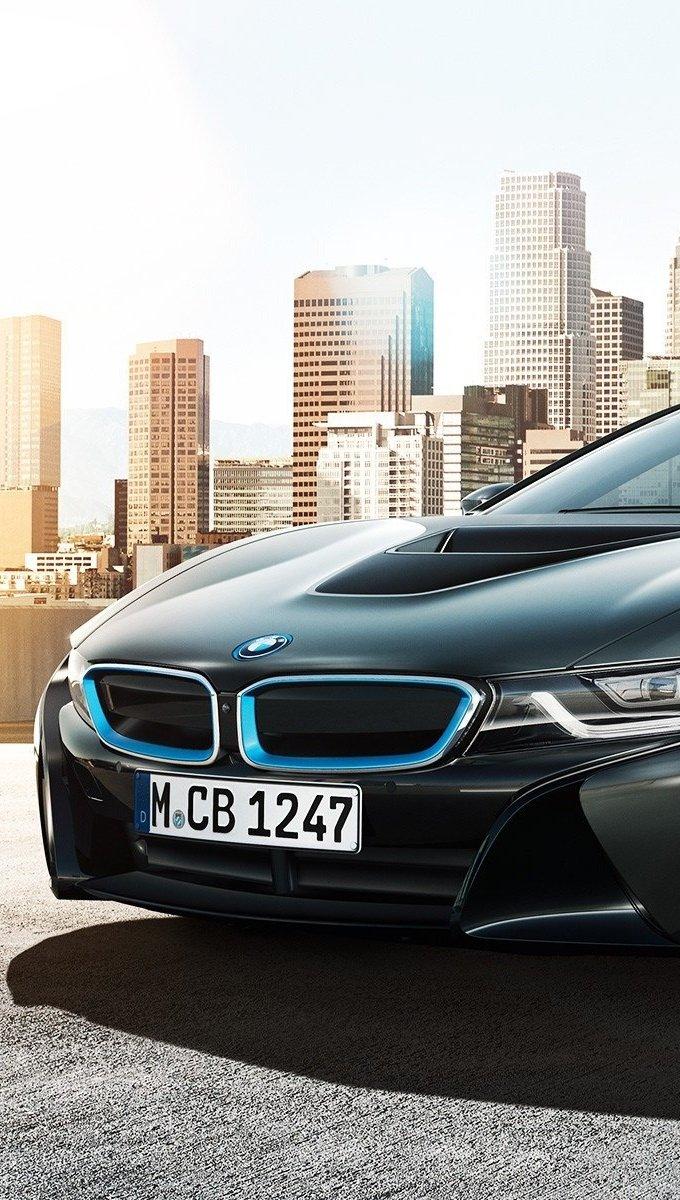 Wallpaper BMW i8 Concept Vertical