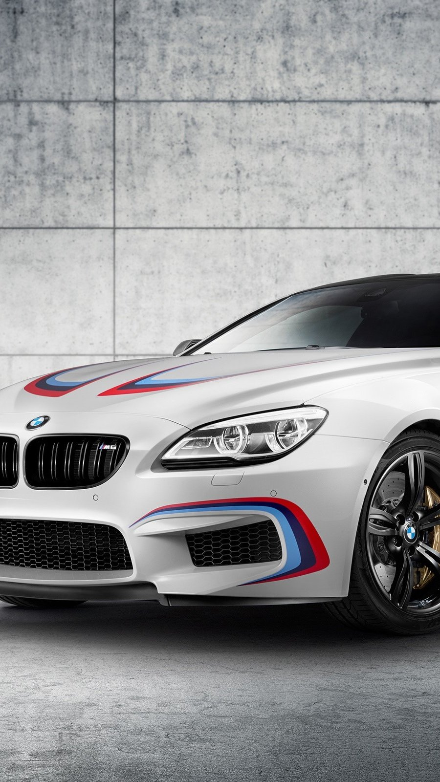 Wallpaper BMW M6 Coupe F13 Vertical