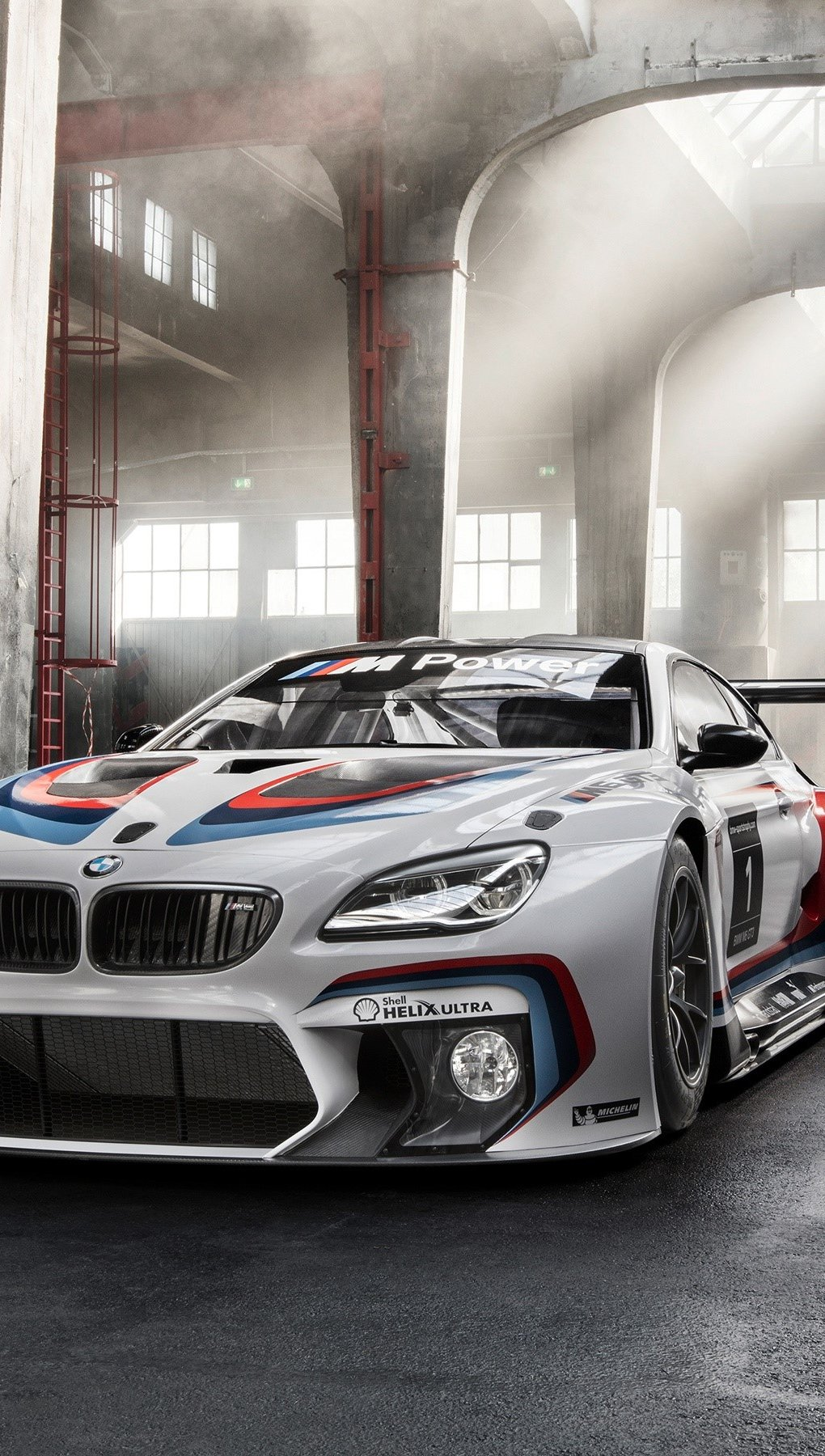 Wallpaper BMW M6 GT3 f13 sport Vertical