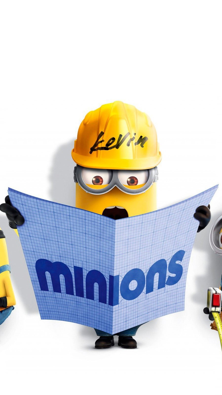 Wallpaper Bob, Kevin and Stuart from Minions Vertical