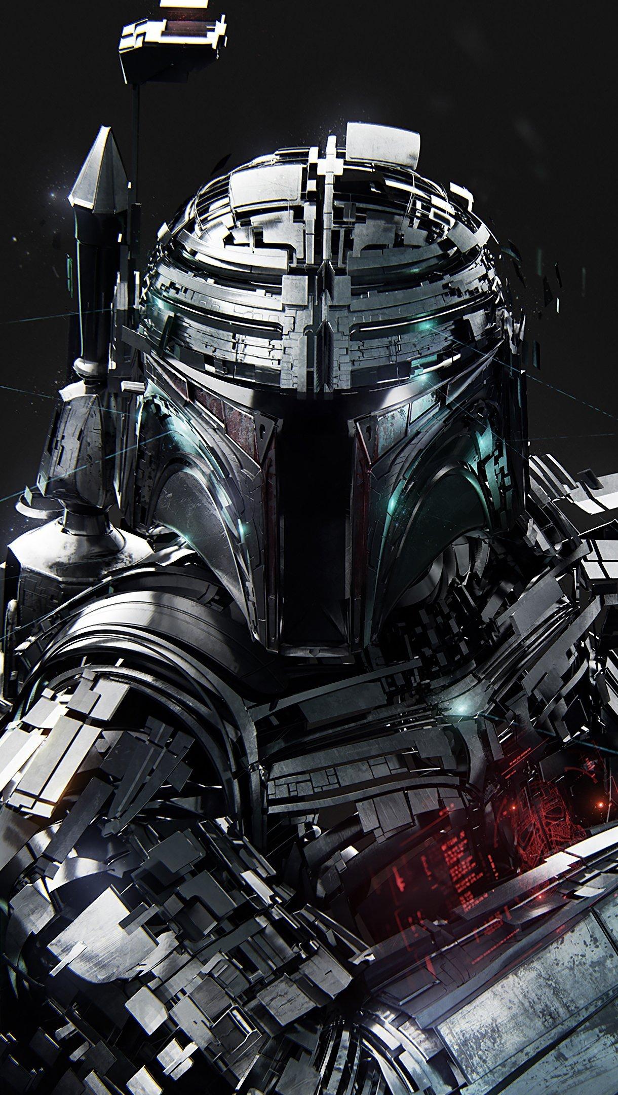Fondos de pantalla Boba Fett Star Wars Vertical