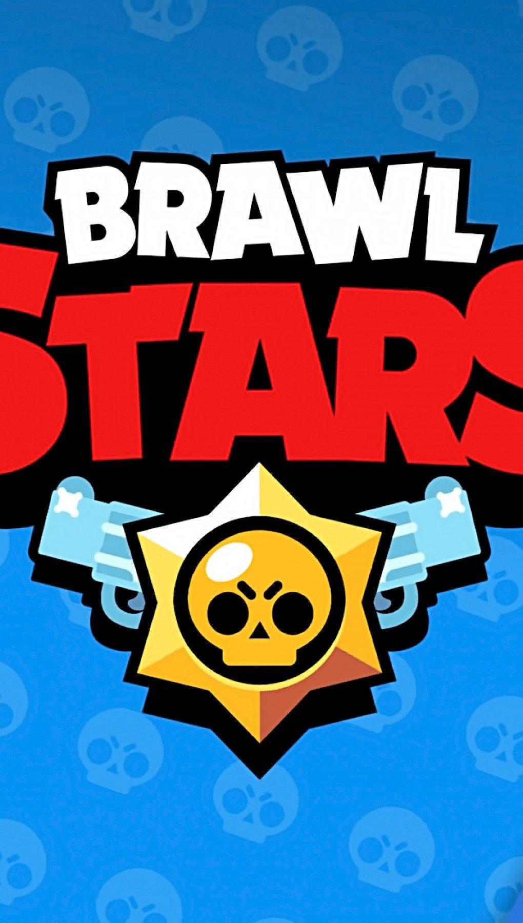 Wallpaper Brawl Stars Logo Vertical