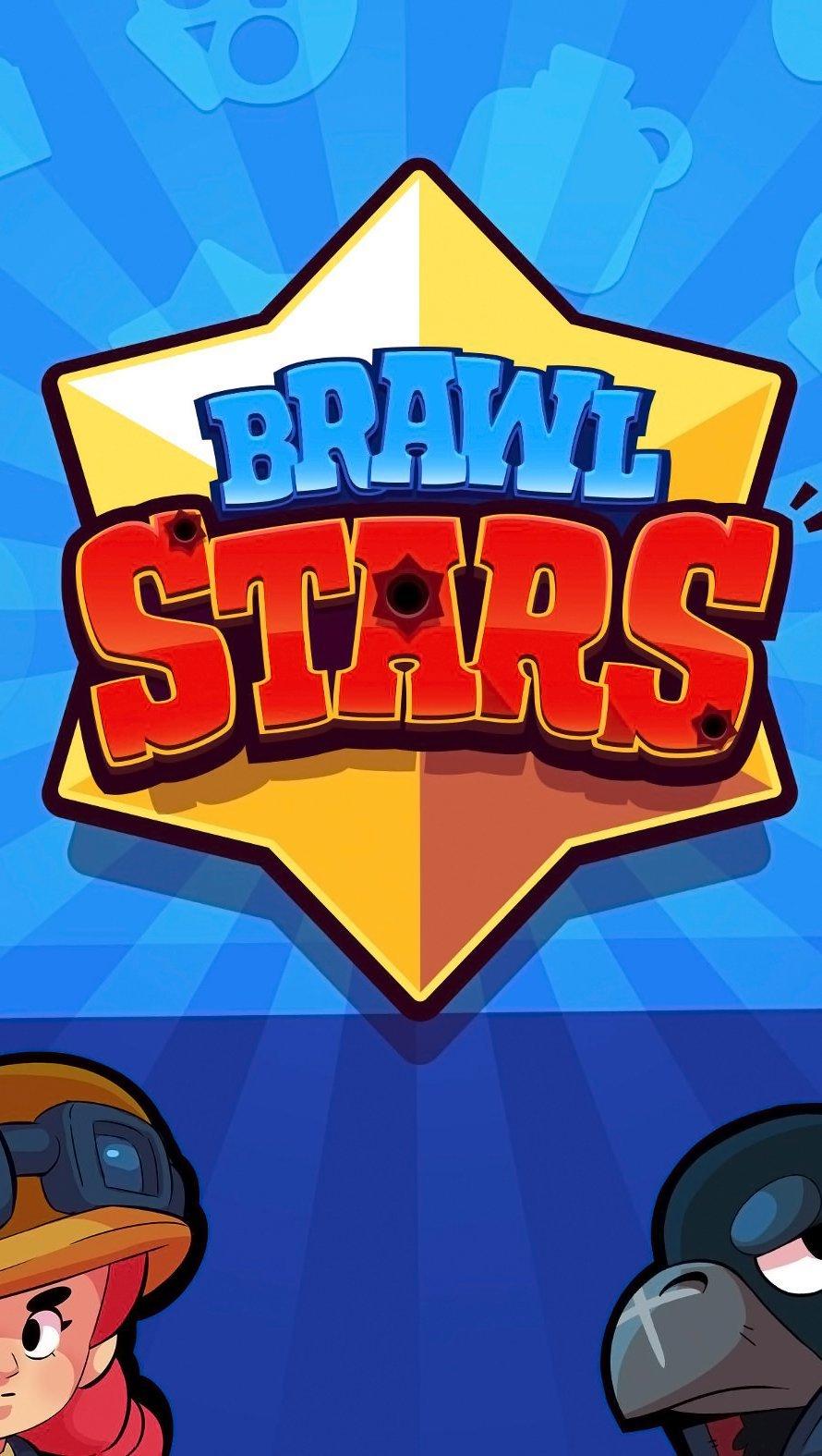 Fondos de pantalla Brawl Stars Logo y personajes Vertical