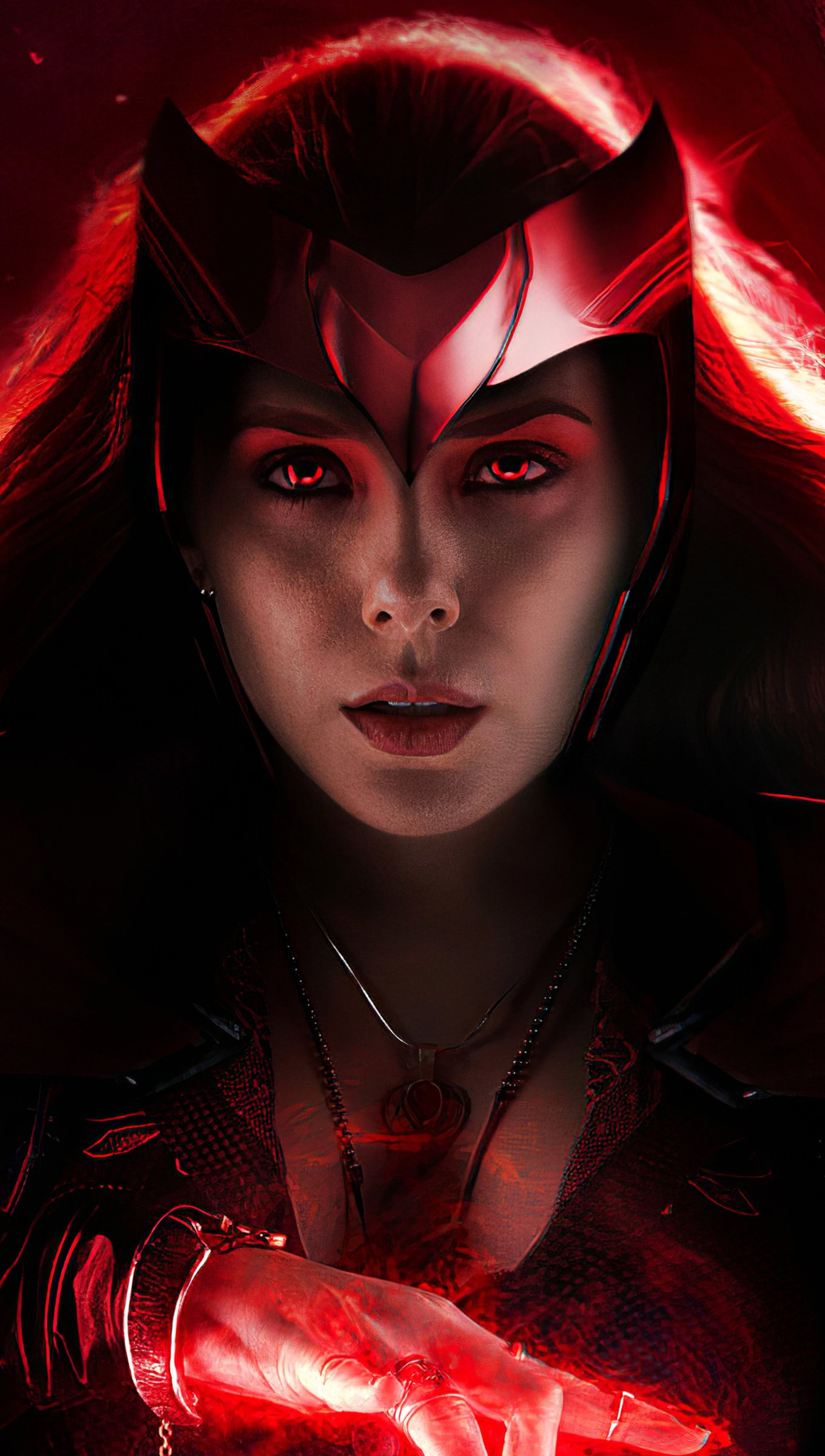 Wallpaper Scarlet Witch Vertical