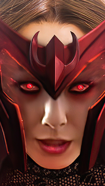 Wallpaper Scarlet Witch Wanda Vertical