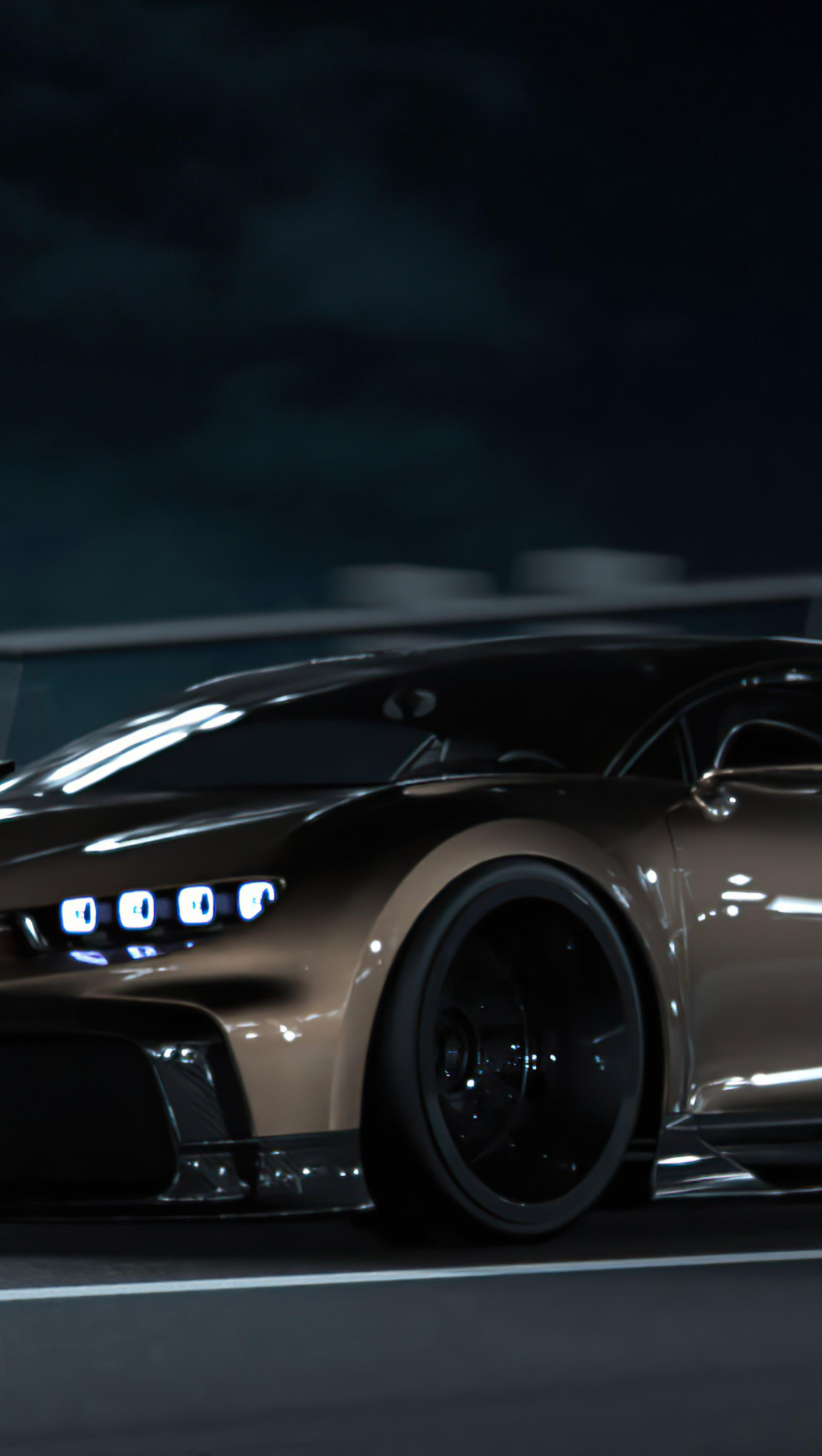 Fondos de pantalla Bugatti Chiron CGI Vertical