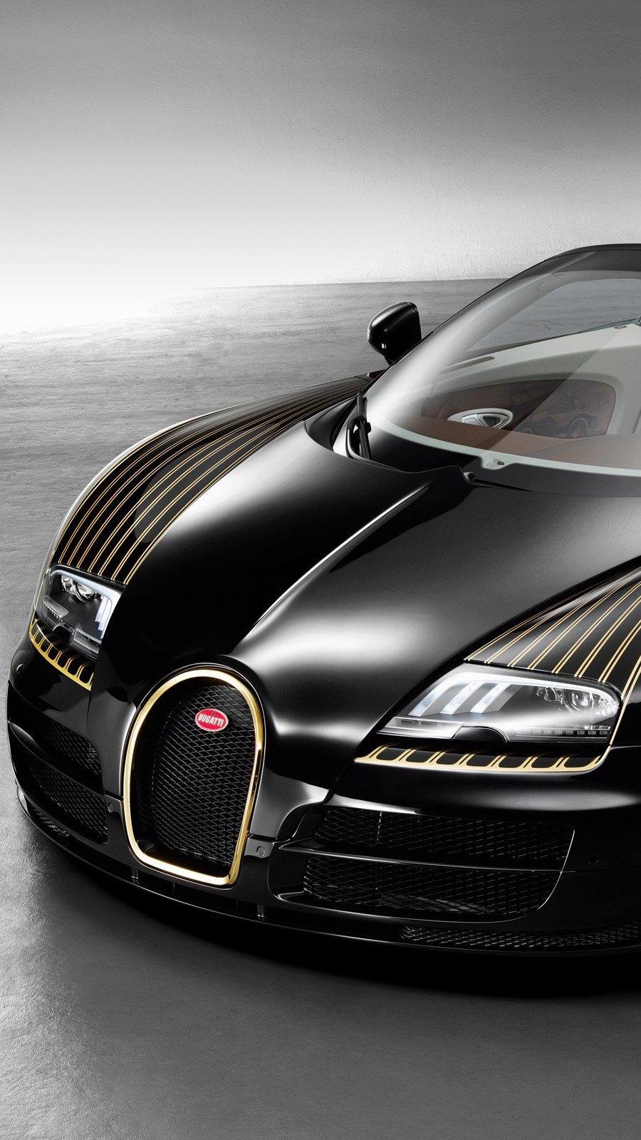 Fondos de pantalla Bugatti Veyron Grand Sport Vitesse ?Black Bess? Vertical