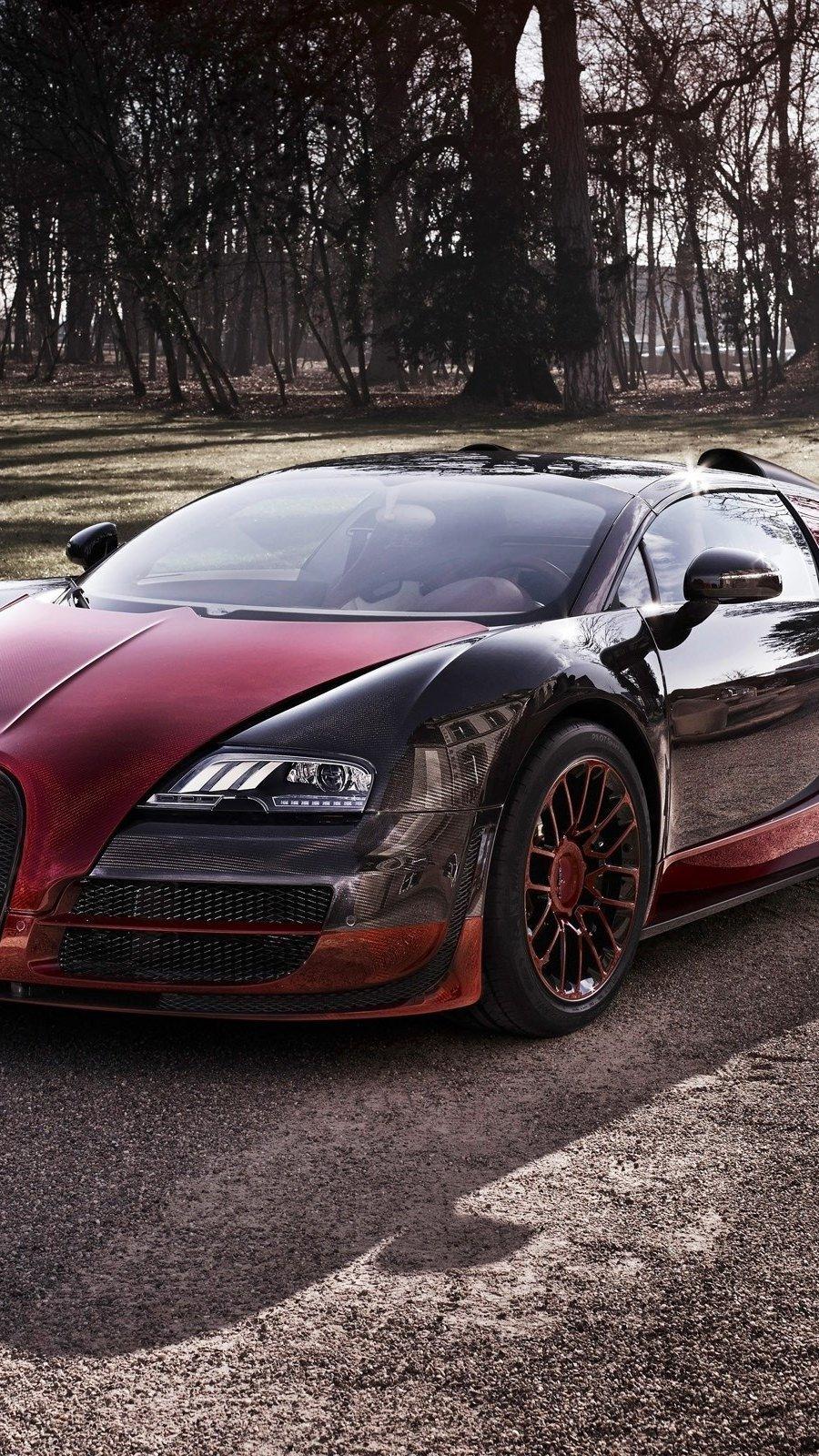 Wallpaper Bugatti veyron grand sport vitesse la finale Vertical