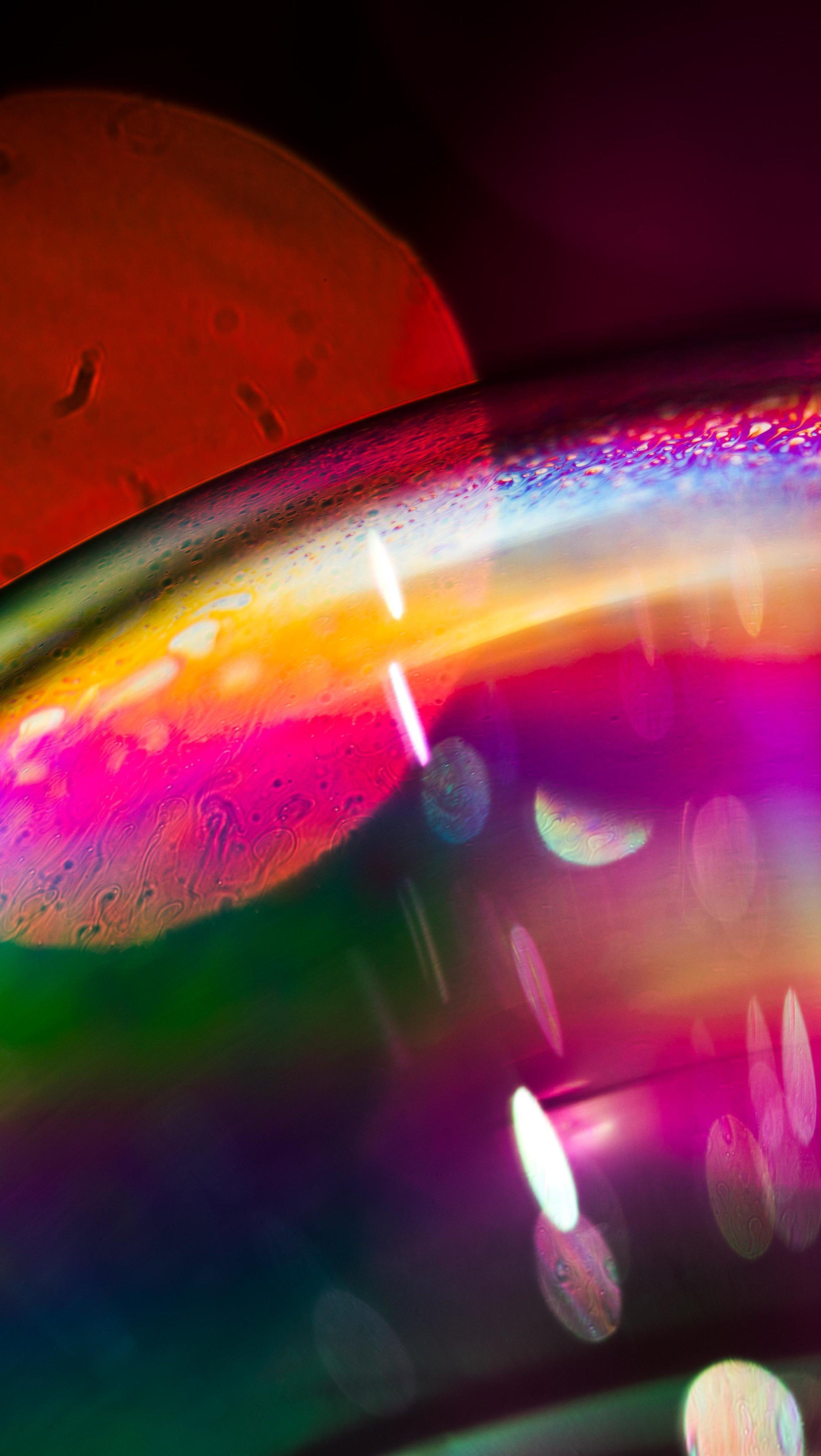 Fondos de pantalla Burbujas coloridas Vertical