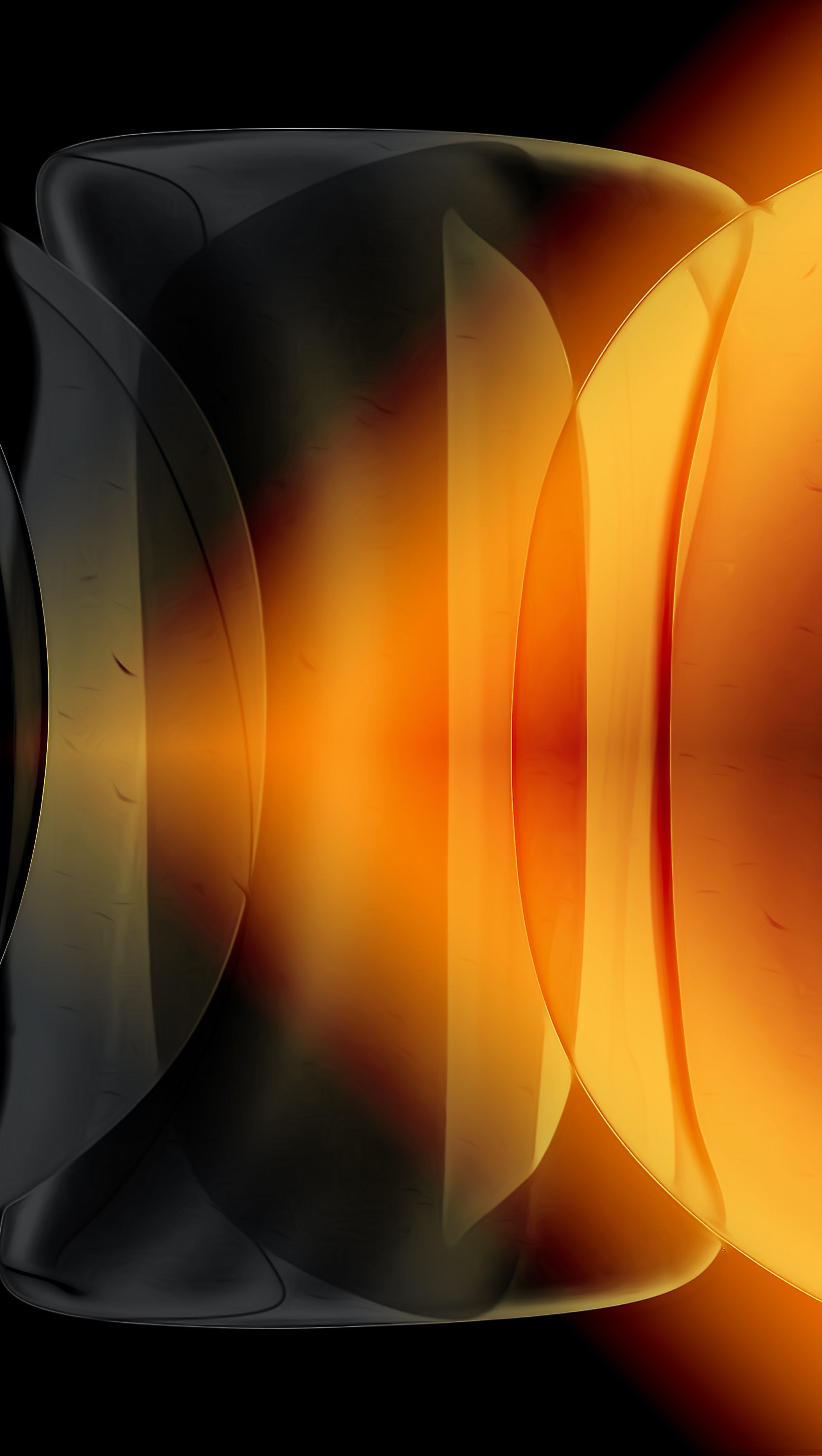 Fondos de pantalla Burbujas en diferentes figuras geometricas Vertical