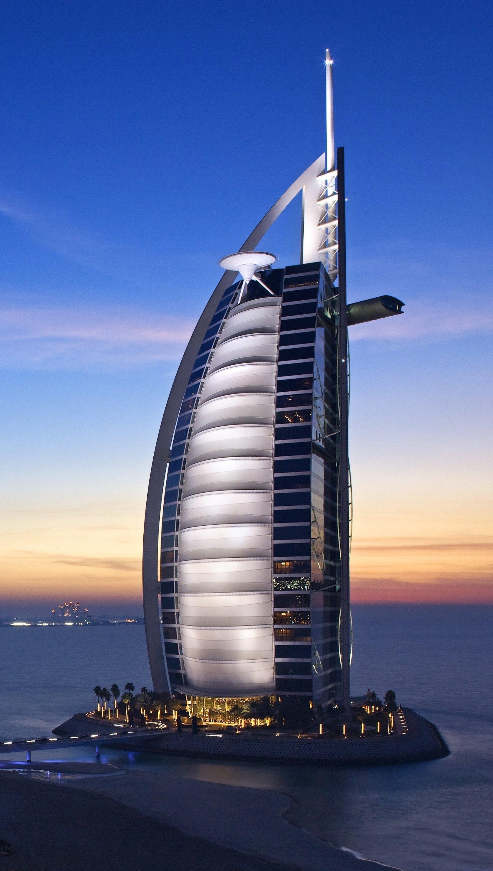 Wallpaper Burj Al Arab Dubai Cities United Arab Emirates Vertical
