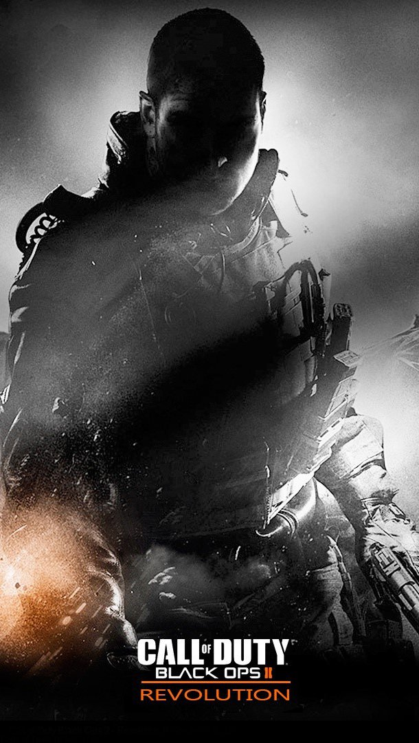 Wallpaper Call of Duty Black Ops 2 Revolution Vertical