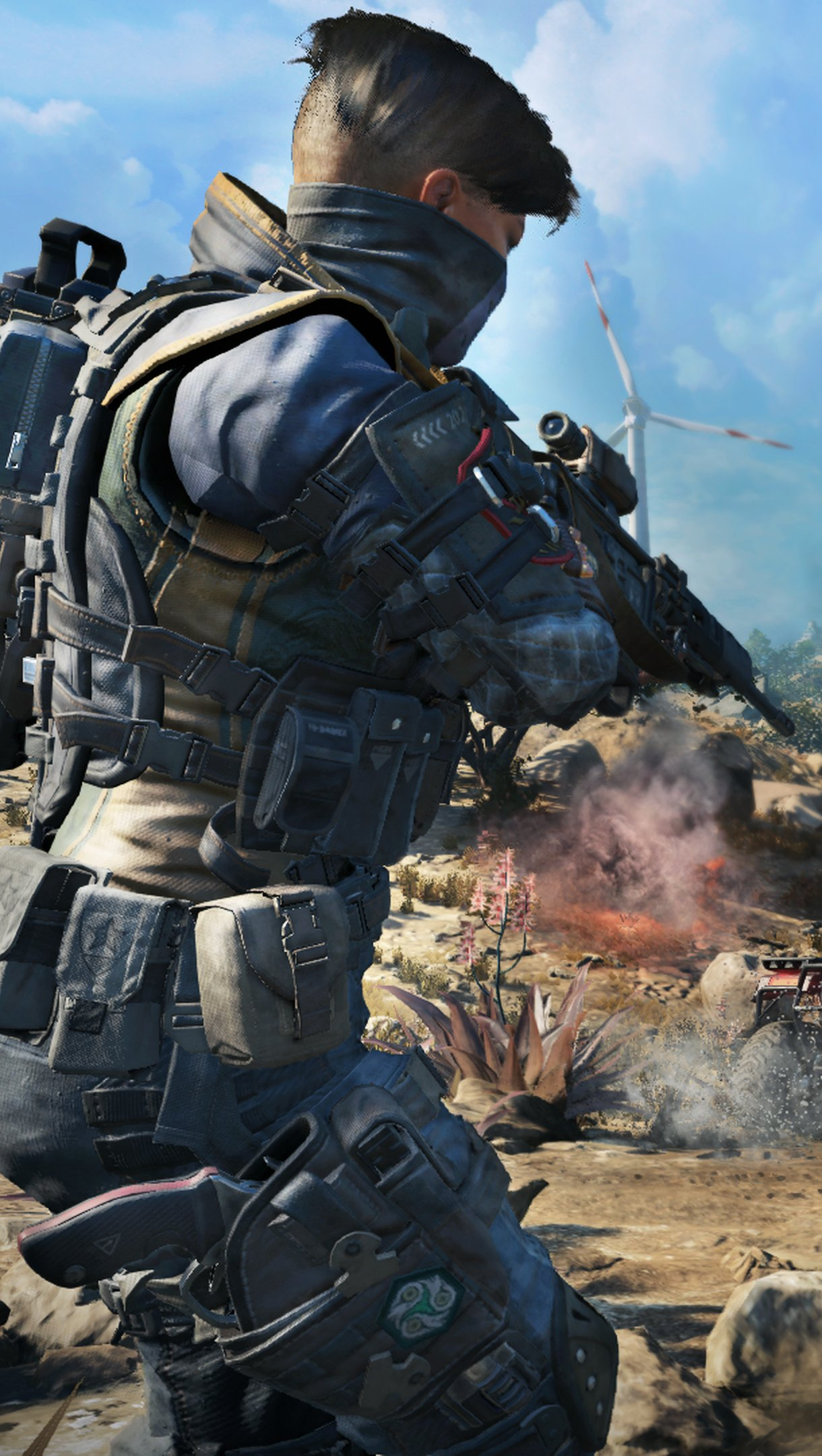 Wallpaper Call of Duty Black Ops 4 Blackout Vertical