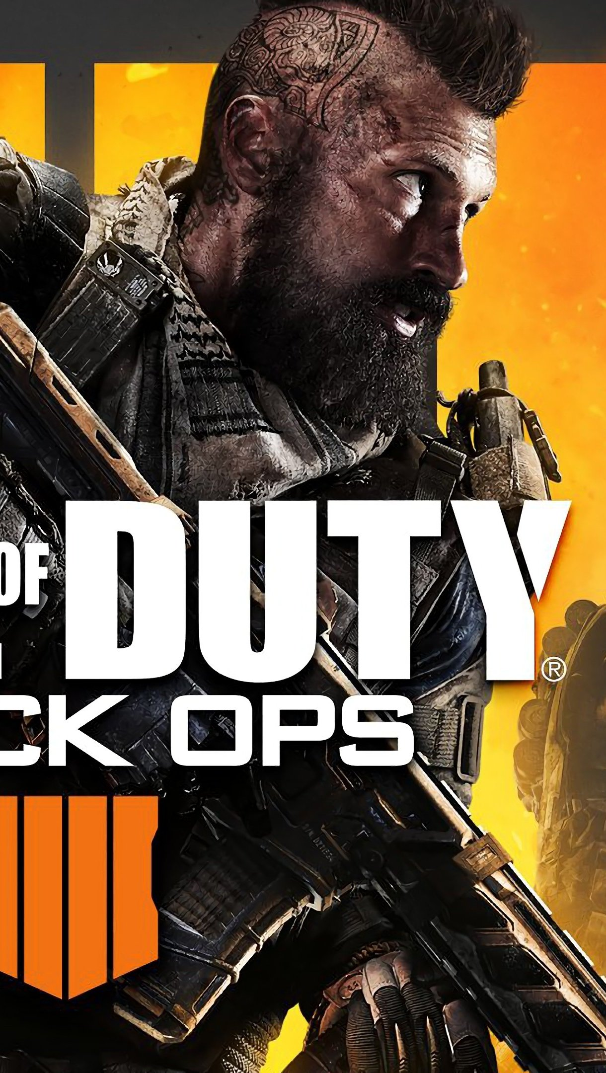Wallpaper Call of Duty Black Ops 4 Poster Vertical