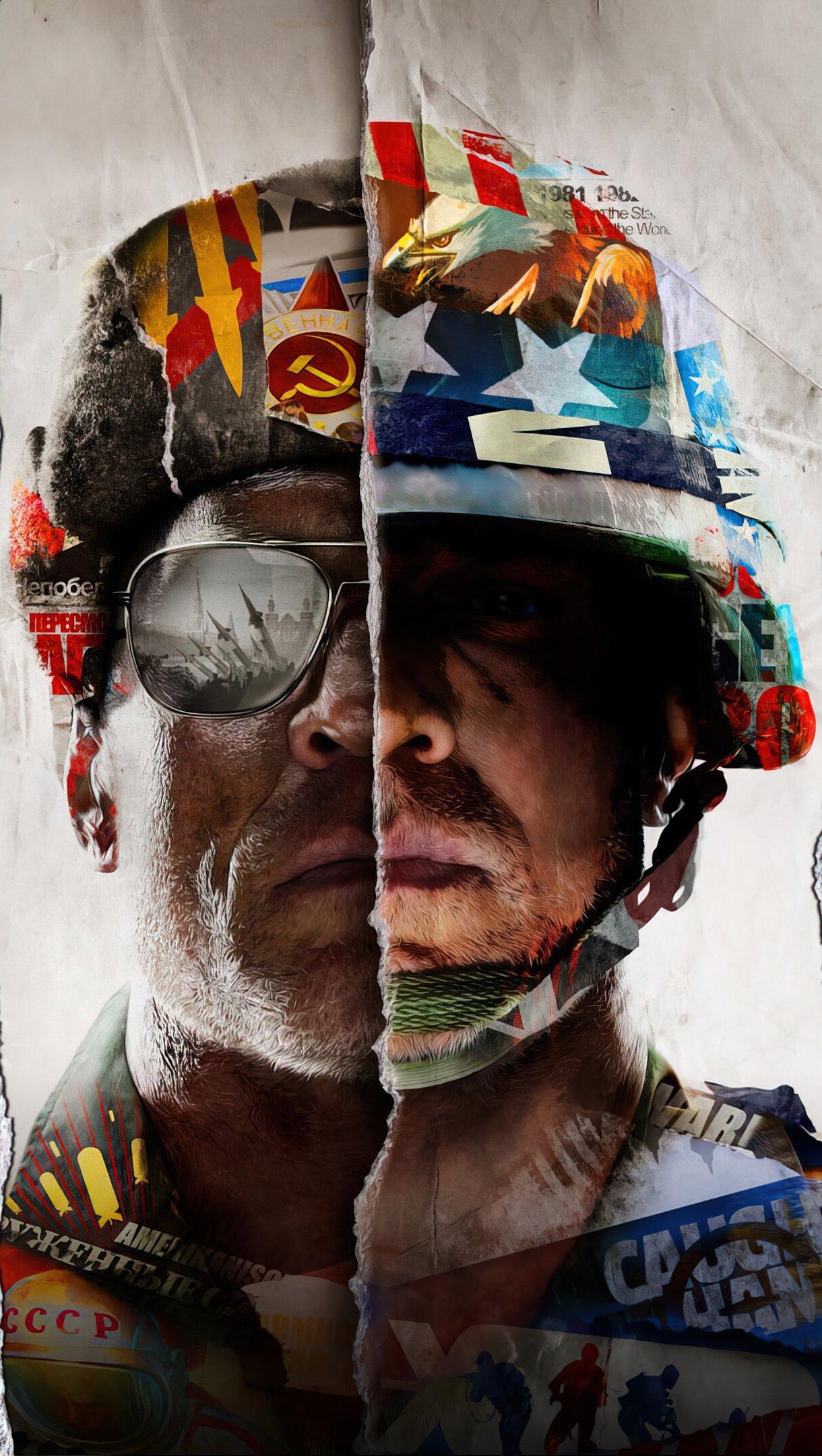 Fondos de pantalla Call of Duty Black Ops Cold War 2021 Vertical