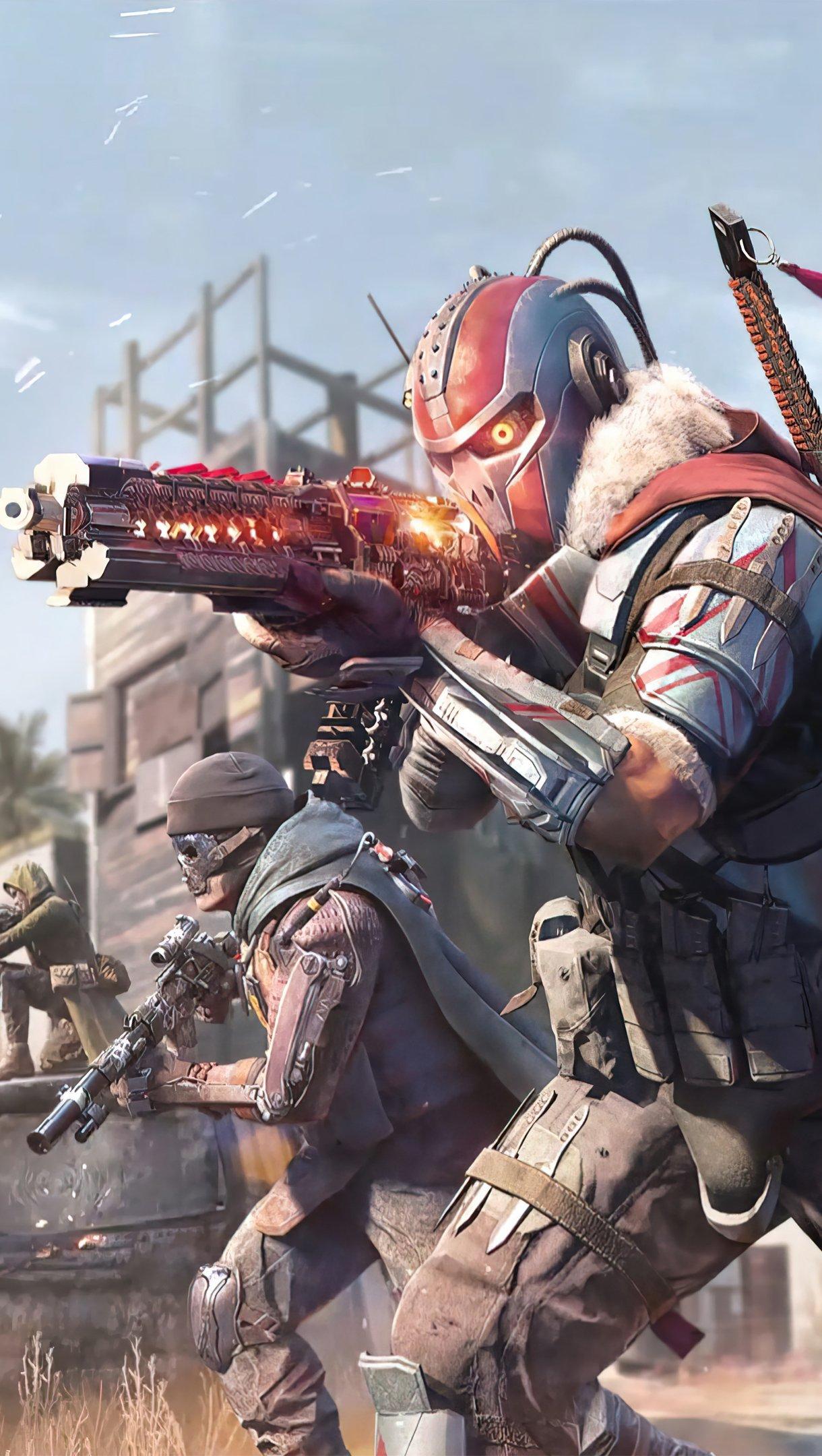 Wallpaper Call of Duty Mobile Season 2 Vertical