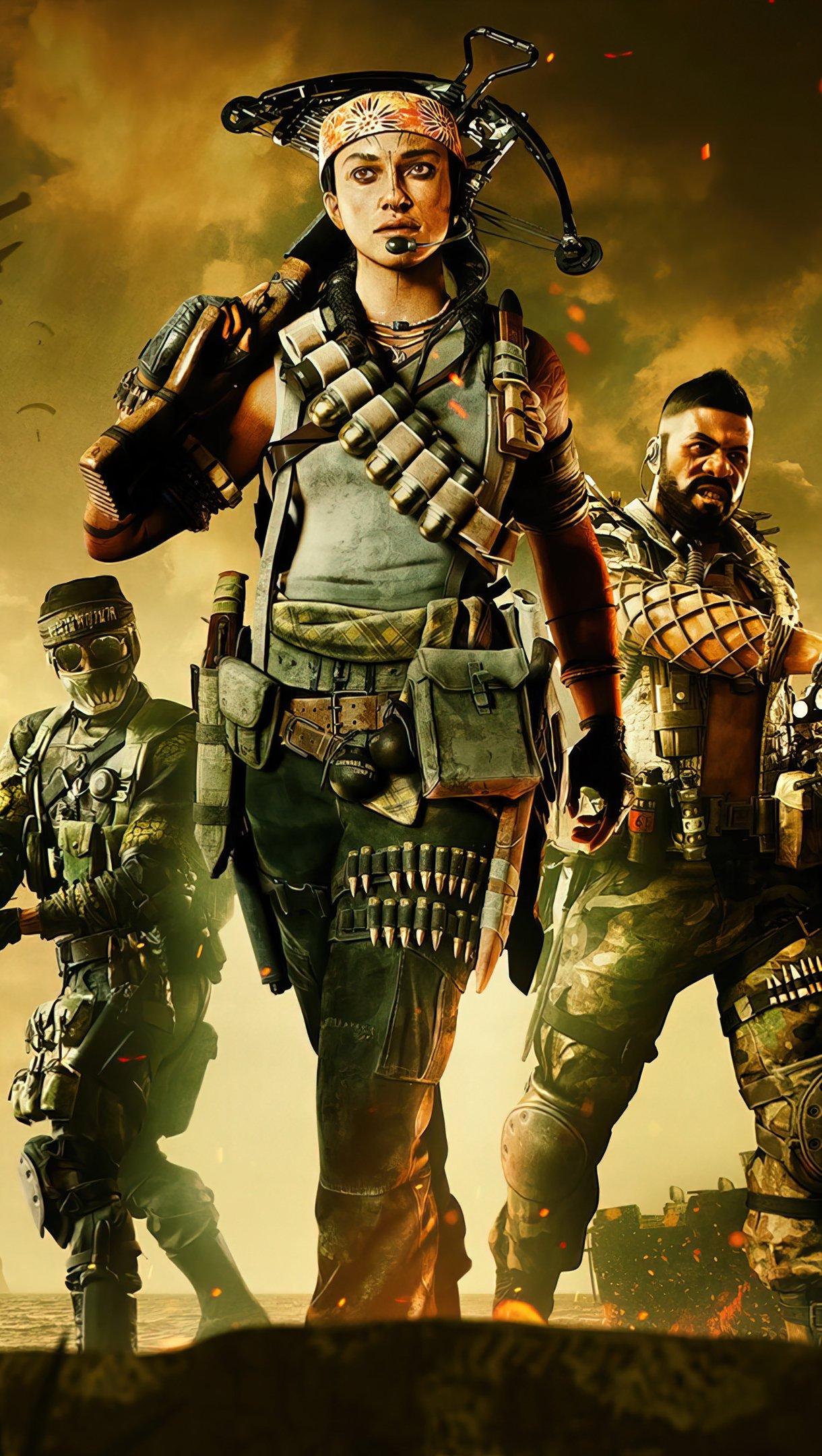 Fondos de pantalla Call of Duty Warzone 2021 Vertical