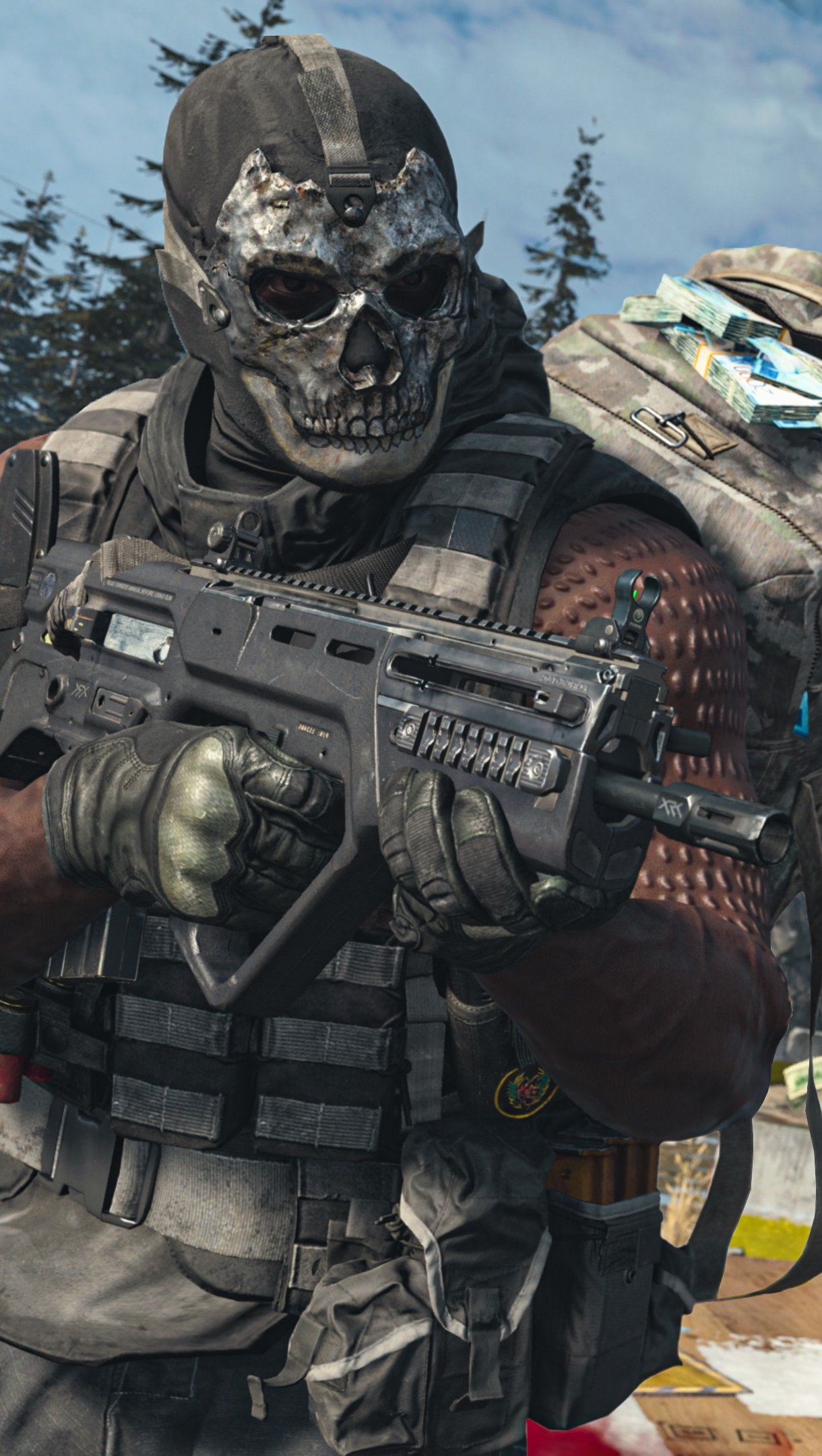 Wallpaper Call of Duty Warzone Squad Vertical