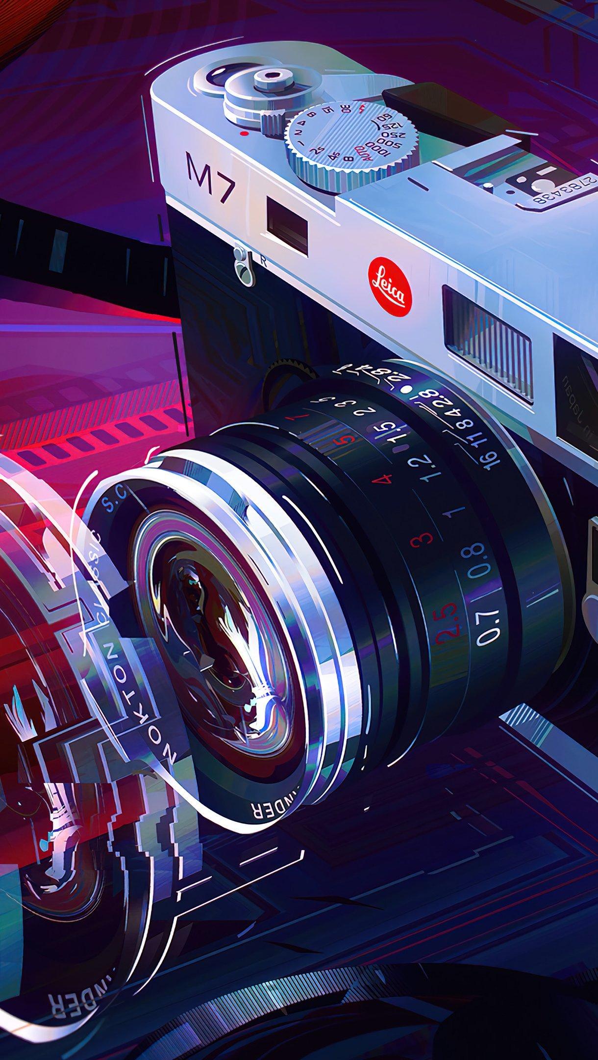 Fondos de pantalla Camara Arte Digital Vertical