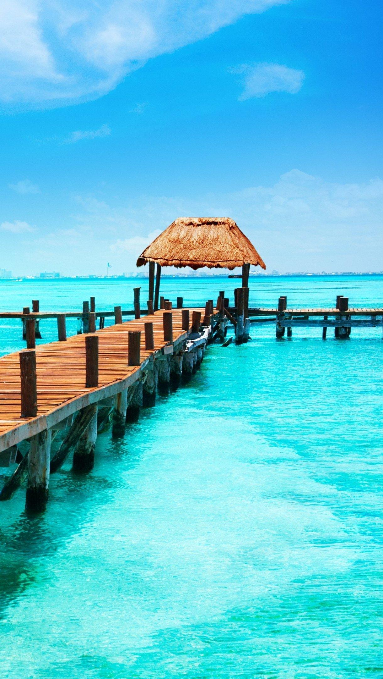 Fondos de pantalla Cancún en Mexico Vertical