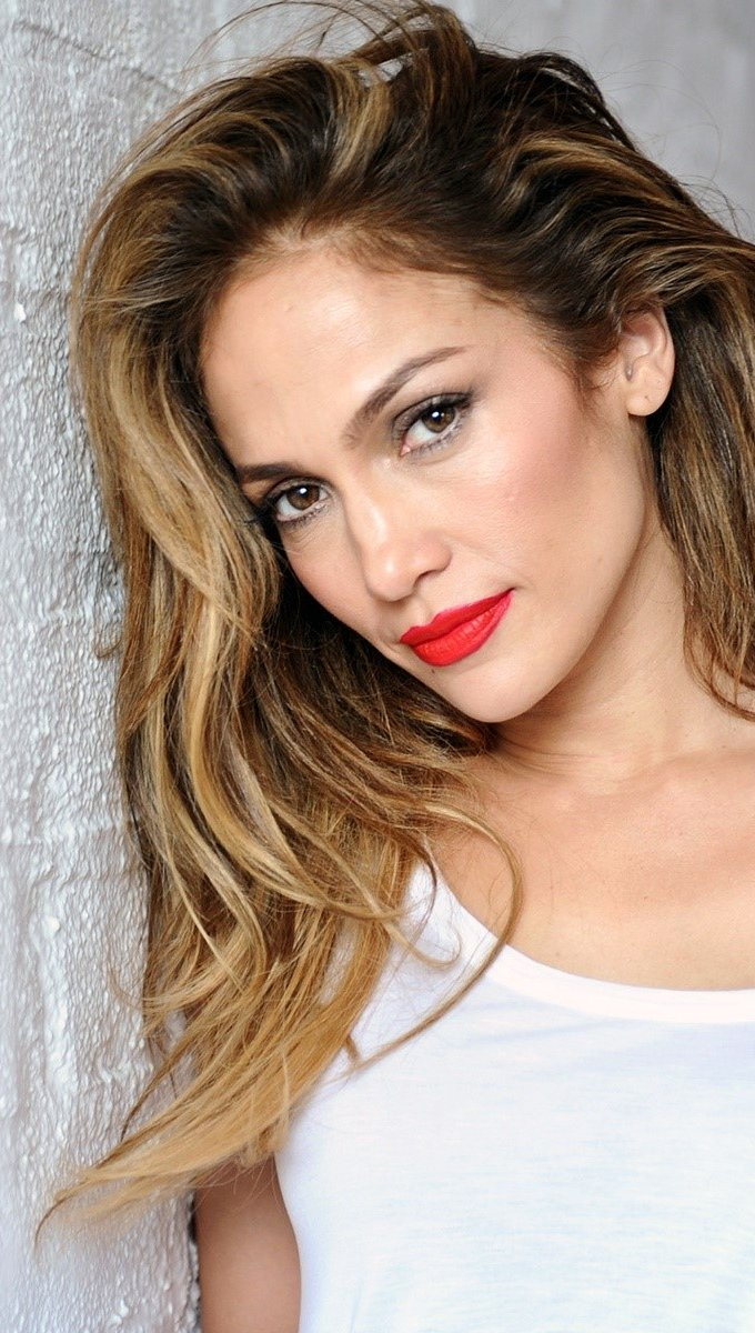 Wallpaper Singer Jennifer Lopez Vertical