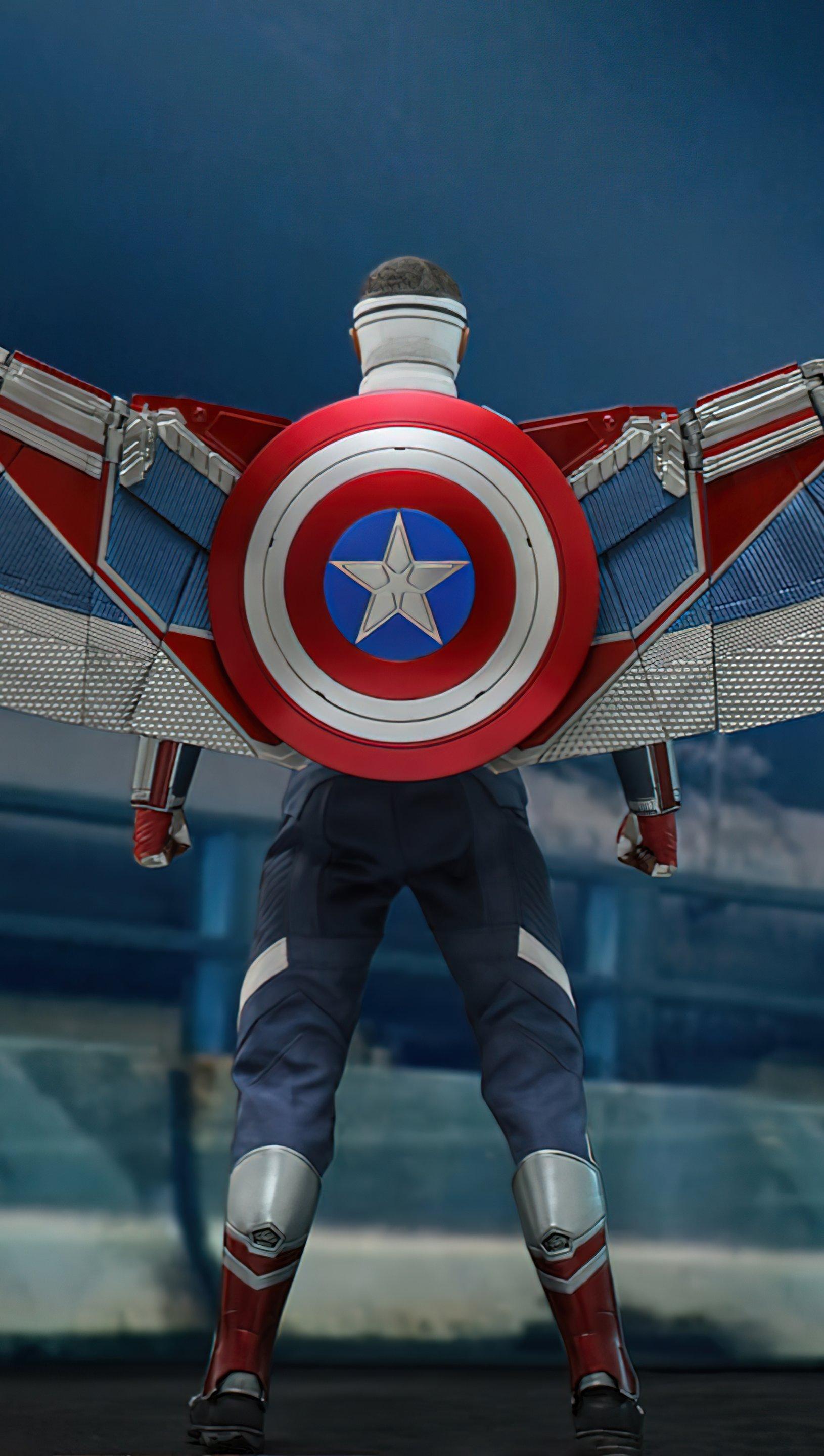 Fondos de pantalla Capitan America Falcon y el soldado de invierno Vertical