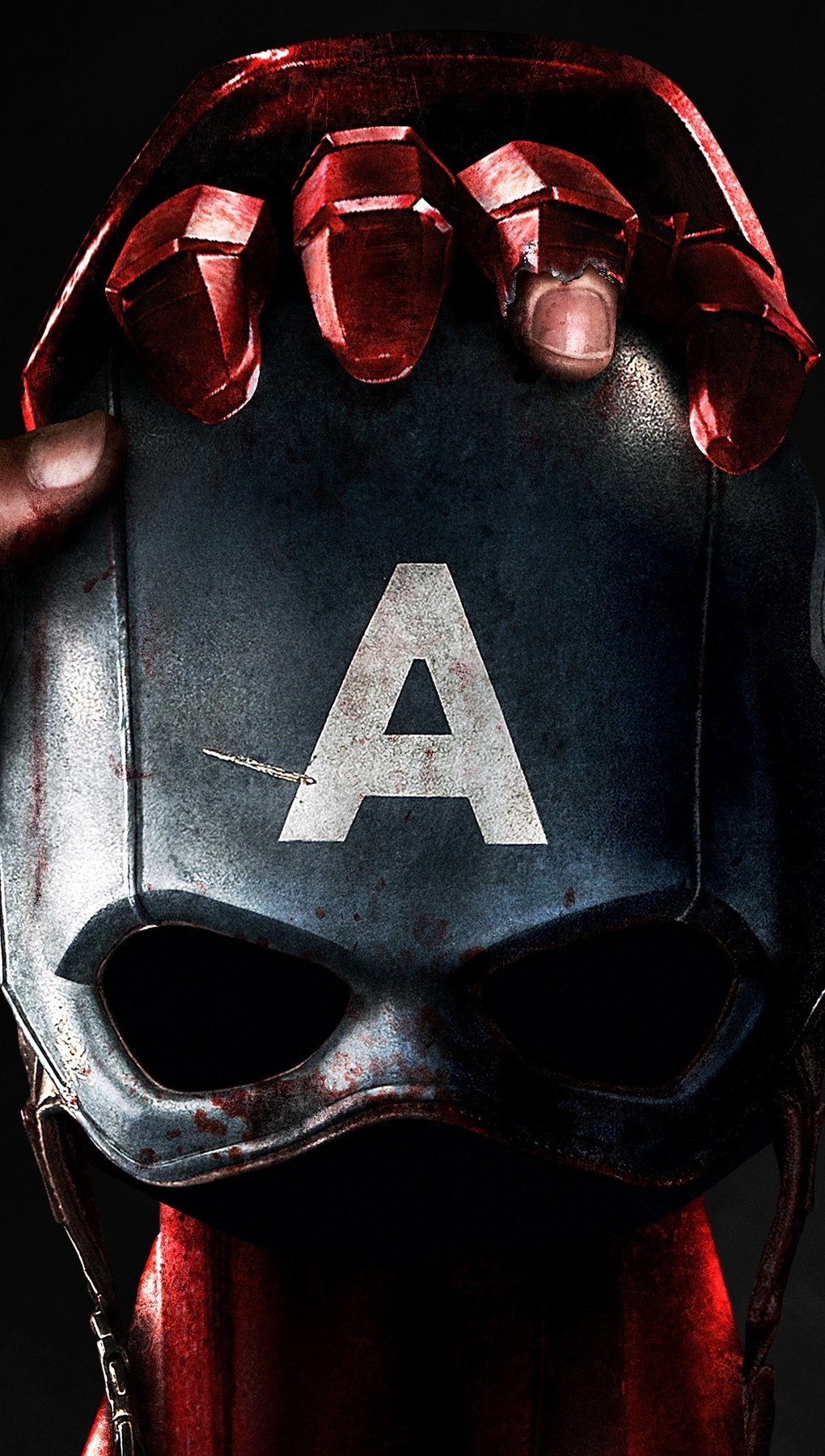 Fondos de pantalla Capitan America y Iron man Civil War Vertical