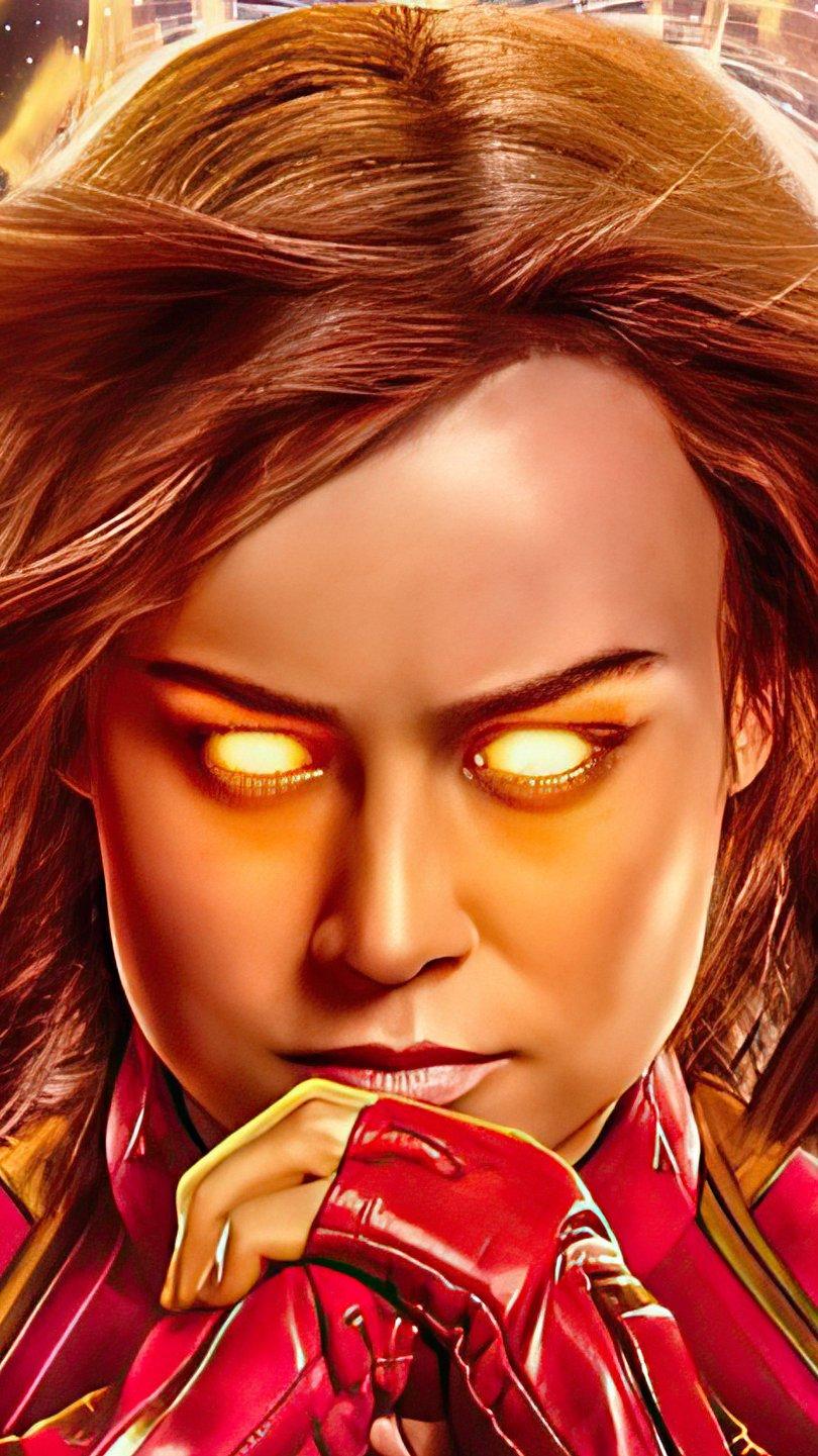 Fondos de pantalla Capitana Marvel 2020 Fanart Vertical