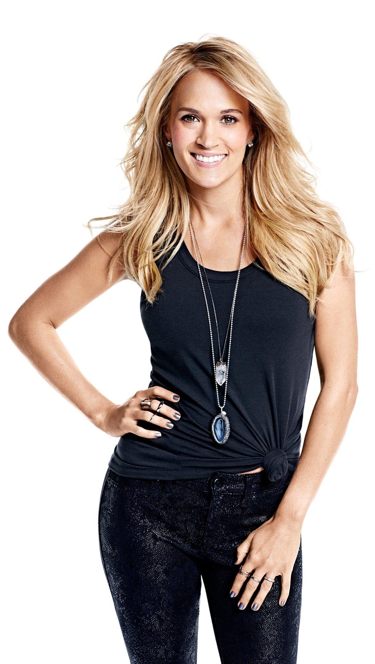 Wallpaper Carrie Underwood blonde Vertical