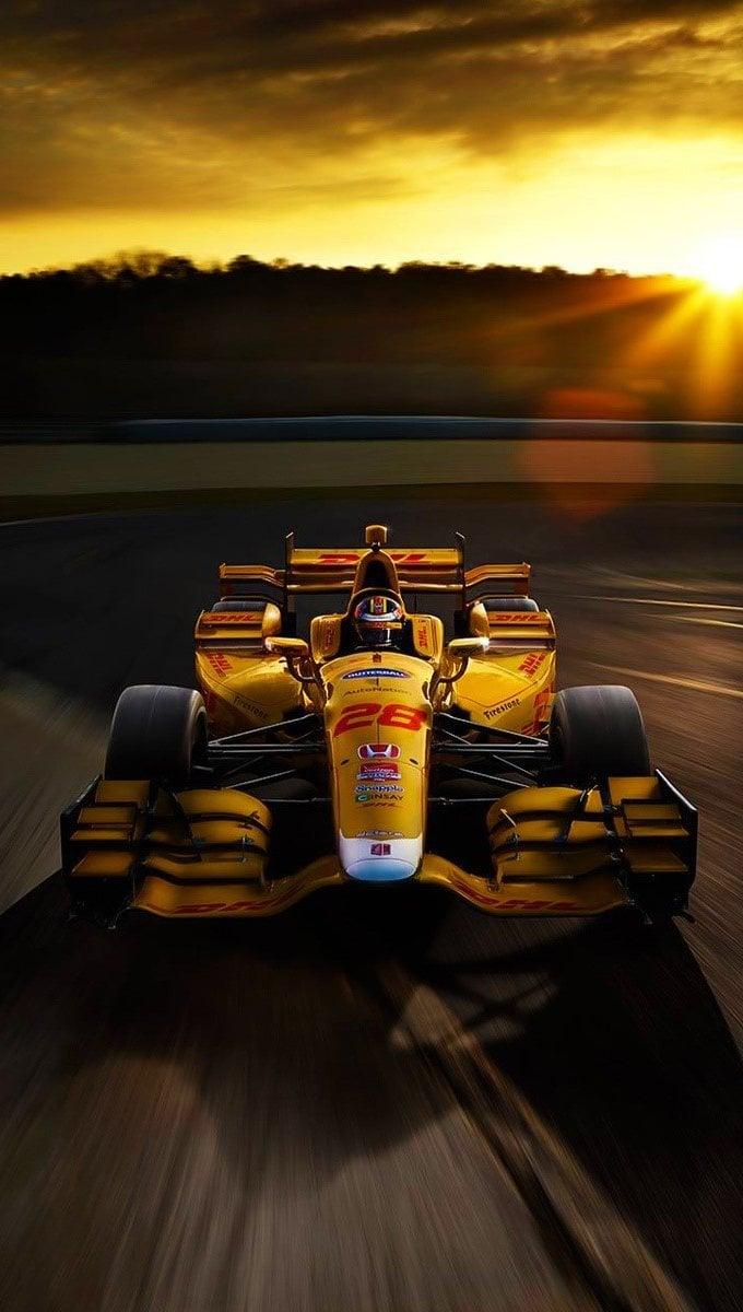 Wallpaper Honda F1 race car Vertical