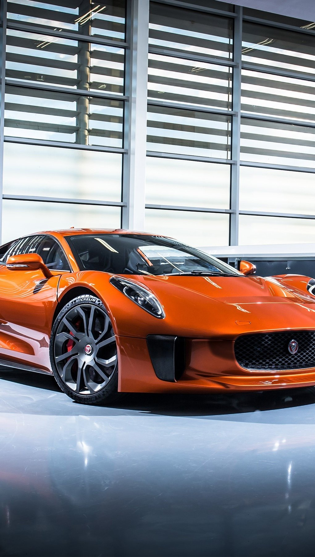 Wallpaper Jaguar C X75 Specter Cart Vertical