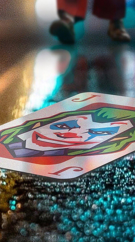 Wallpaper Joker card Vertical