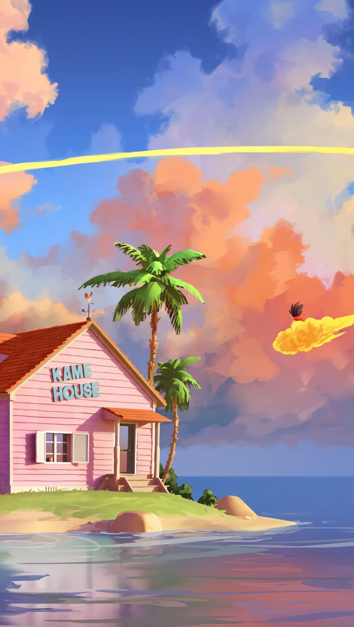Fondos de pantalla Anime Casa Kame de Dragon Ball Vertical