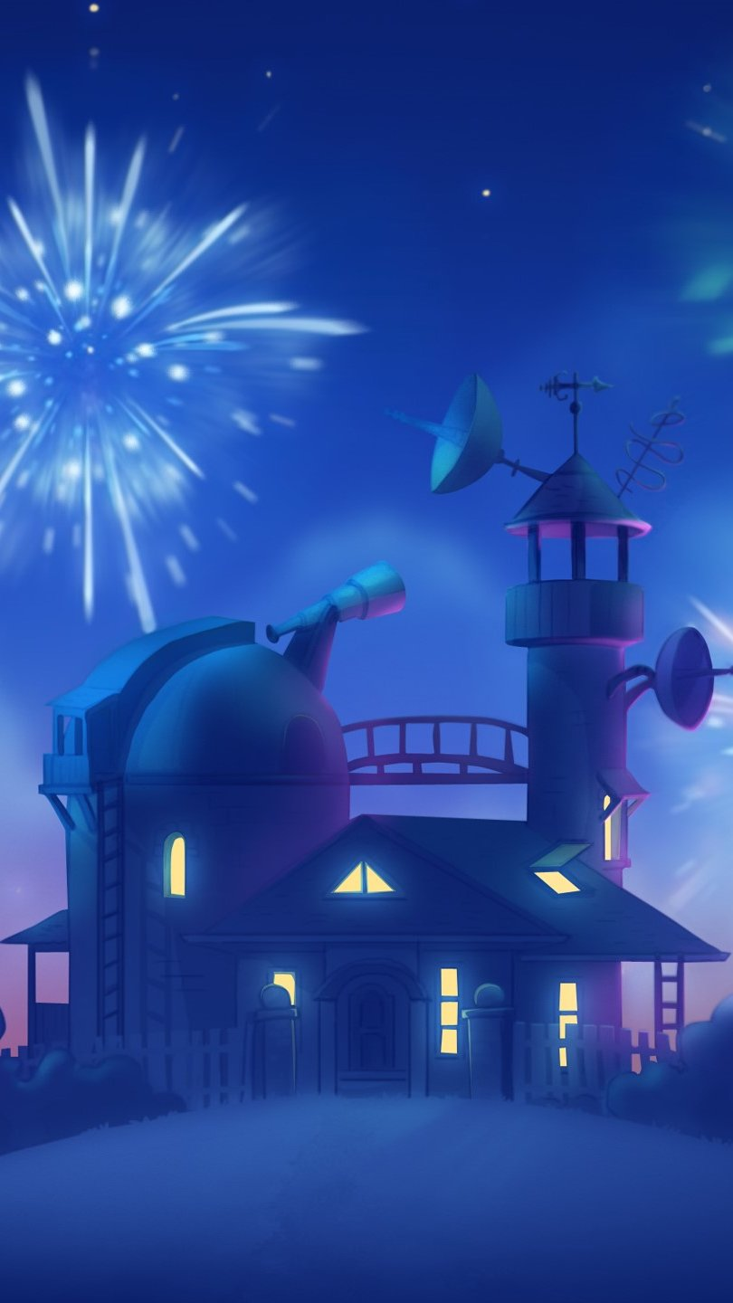 Wallpaper Castle of Cut the rope Vertical