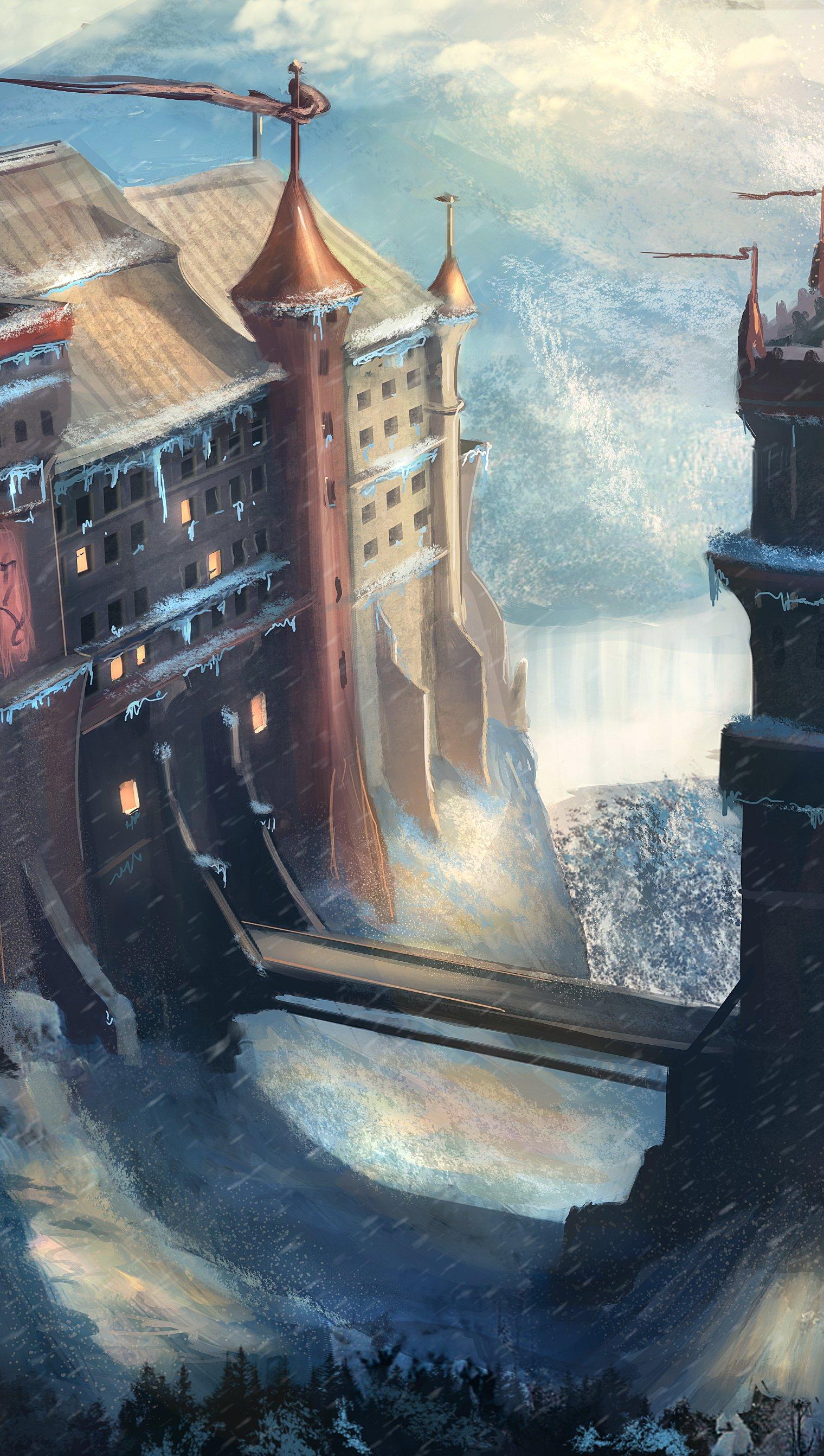 Fondos de pantalla Castillo de Game of Thrones Vertical