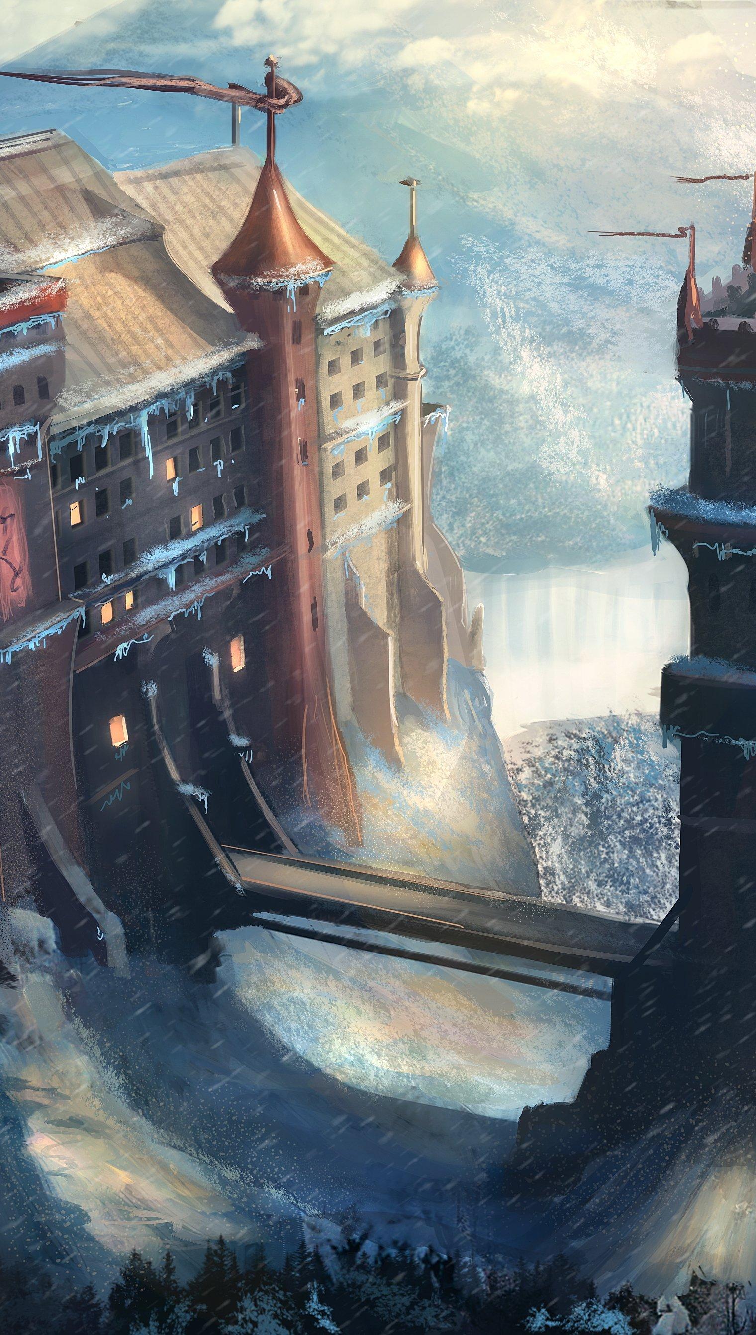 Wallpaper Game of Thrones Castle Vertical