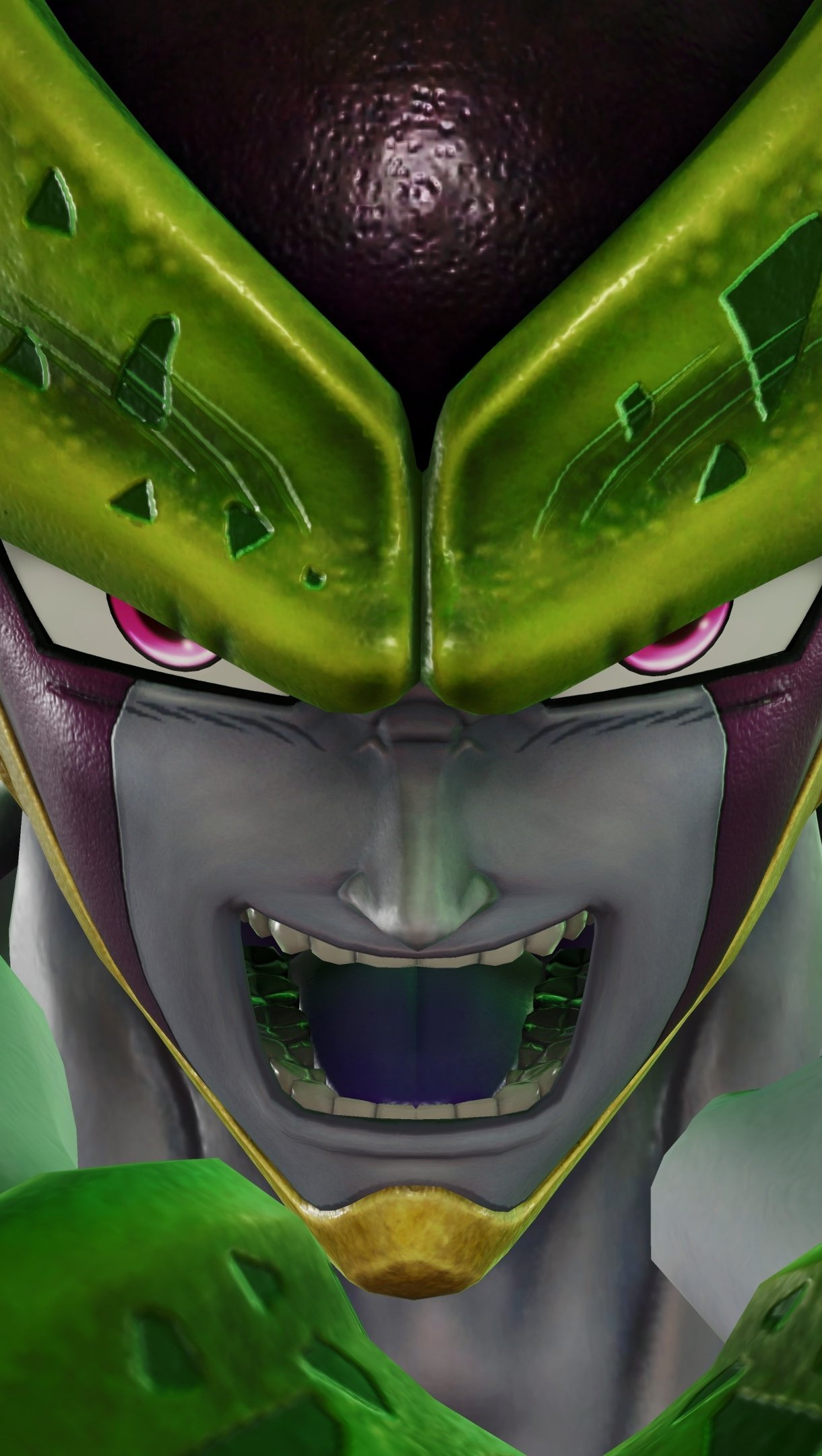Wallpaper Cell from Dragon Ball in Jump Force Vertical