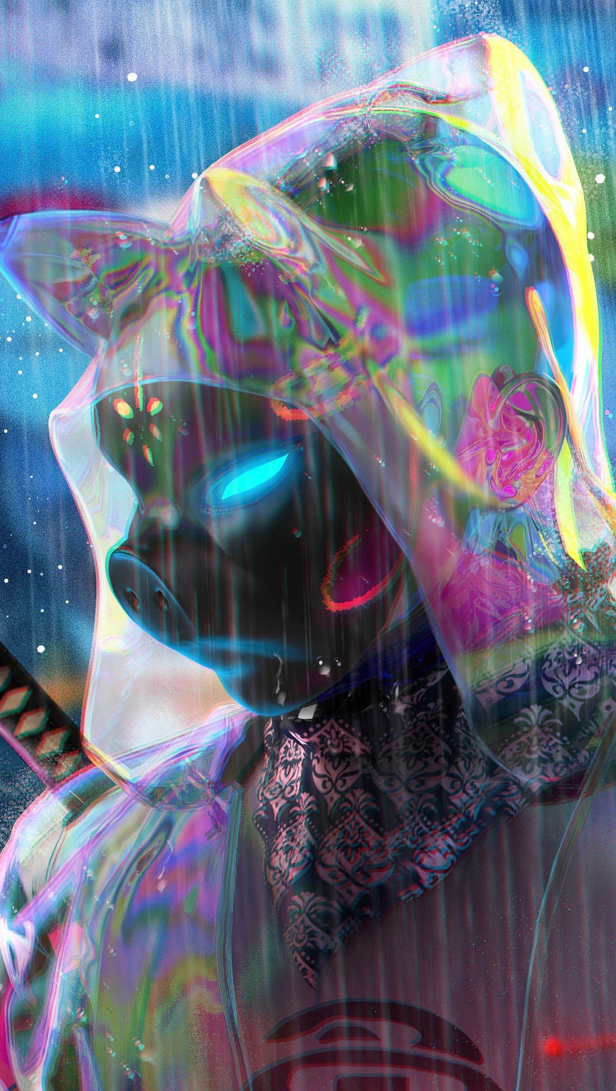 Fondos de pantalla Cerdo soldado Ciencia ficción Vertical