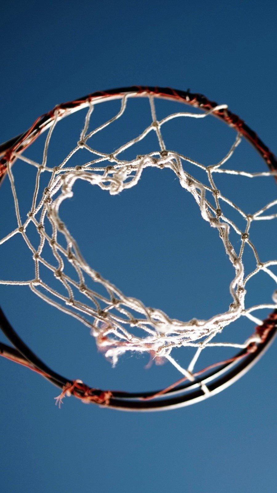 Wallpaper Basketball Basket Vertical