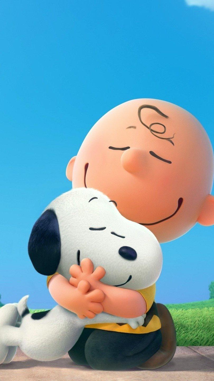 Fondos de pantalla Charlie Brown y Snoopy Vertical