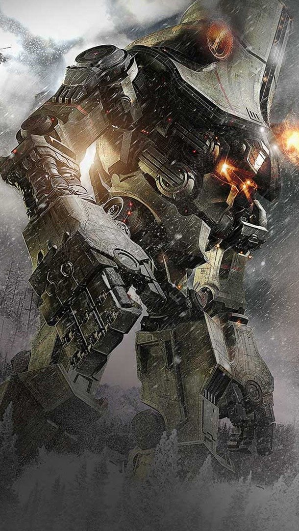 Wallpaper Cherno Alpha in Titans of the Pacific Vertical