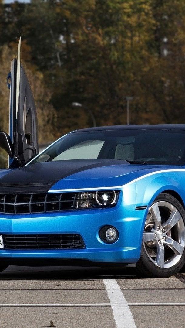 Fondos de pantalla Chevrolet Camaro SS Vertical
