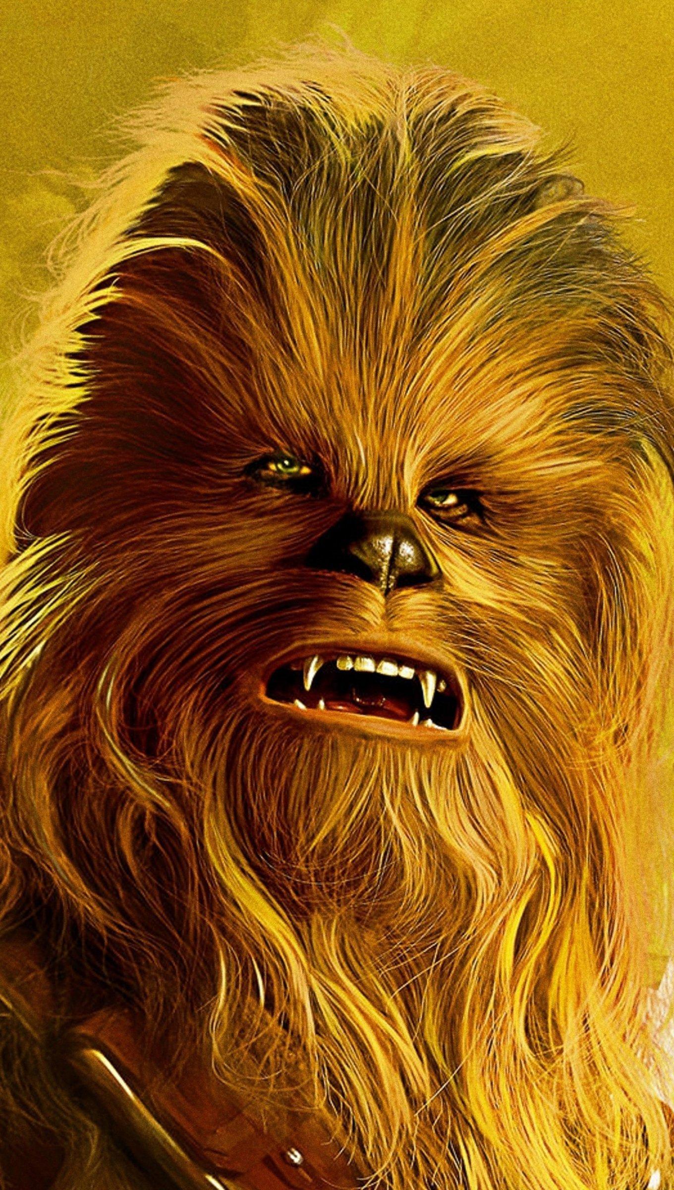 Fondos de pantalla Chewbacca de Star Wars Vertical