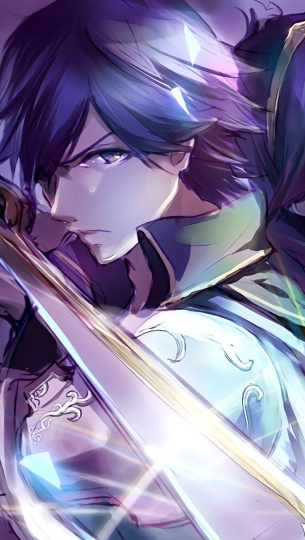 Fondos de pantalla Chrom y Lucina con espada de Fire Emblem Awakening Vertical
