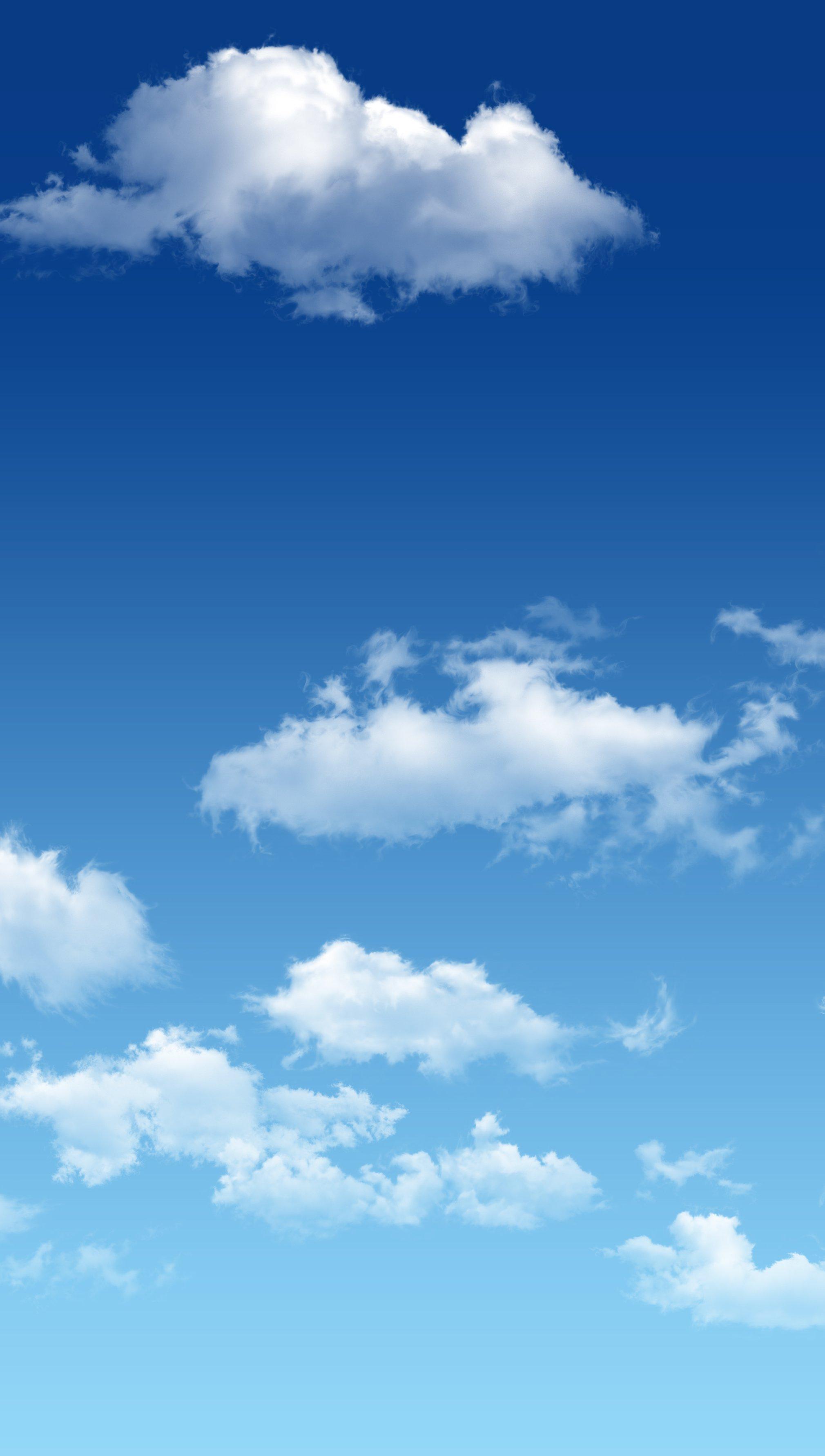 Fondos de pantalla Cielo con nubes Vertical