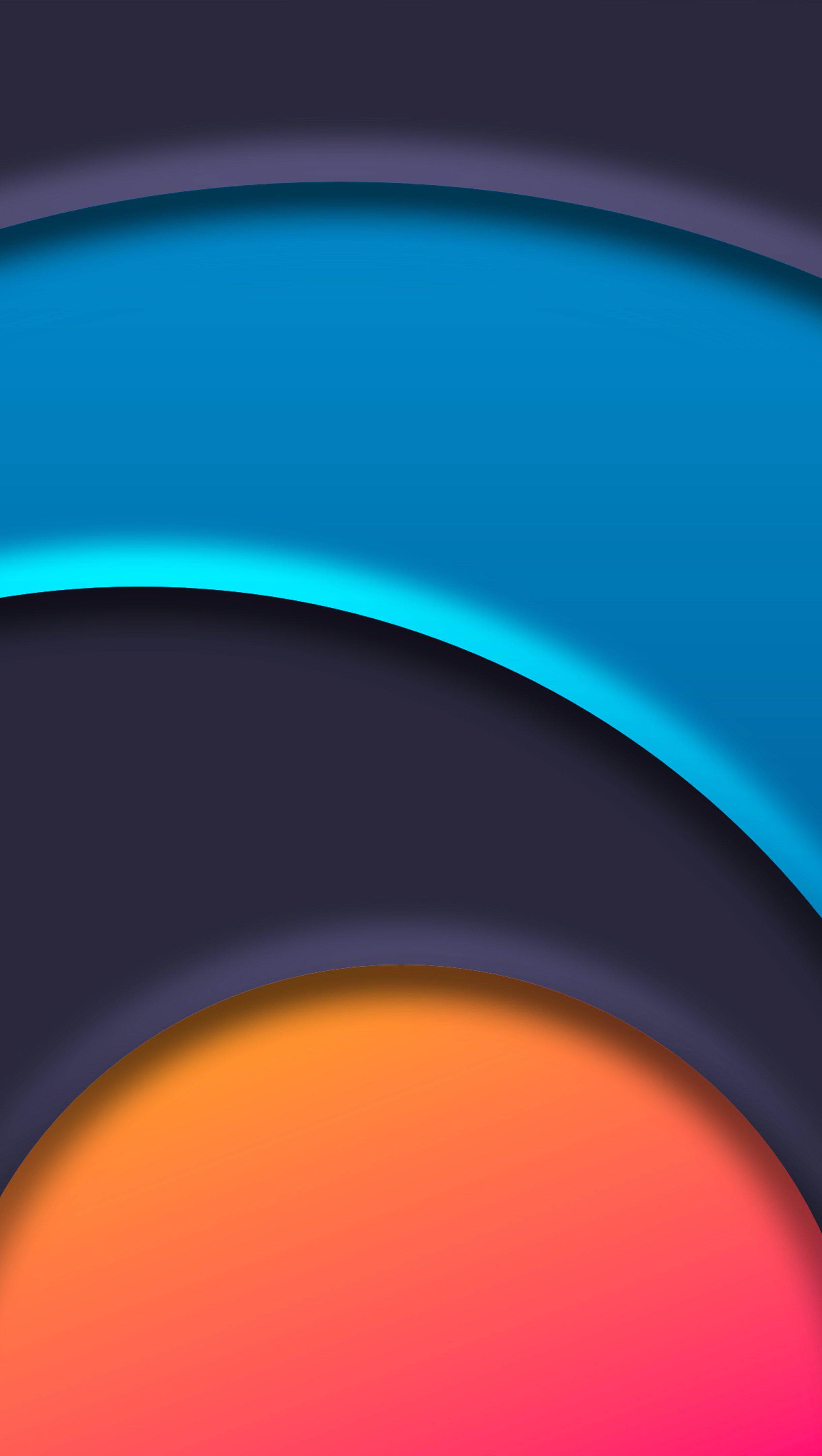 Wallpaper Circle Chakra Abstract Vertical