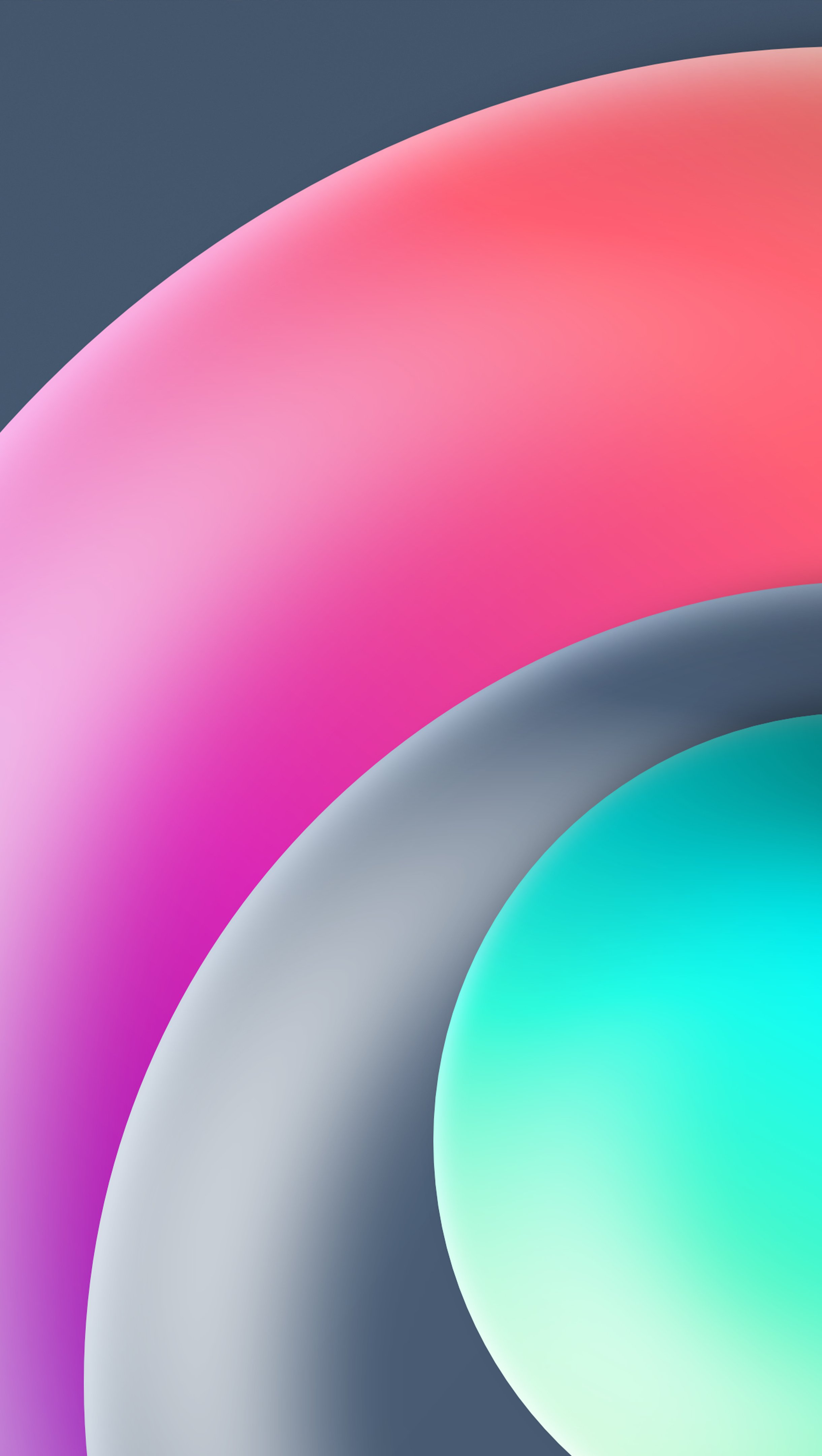 Fondos de pantalla Circulos en 3D Vertical