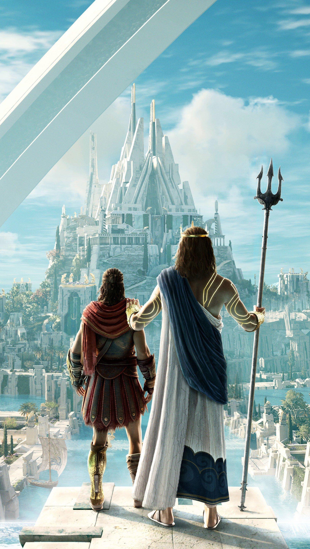 Fondos de pantalla Ciudad de Assassin's Creed Odyssey Judgment of Atlantis Vertical